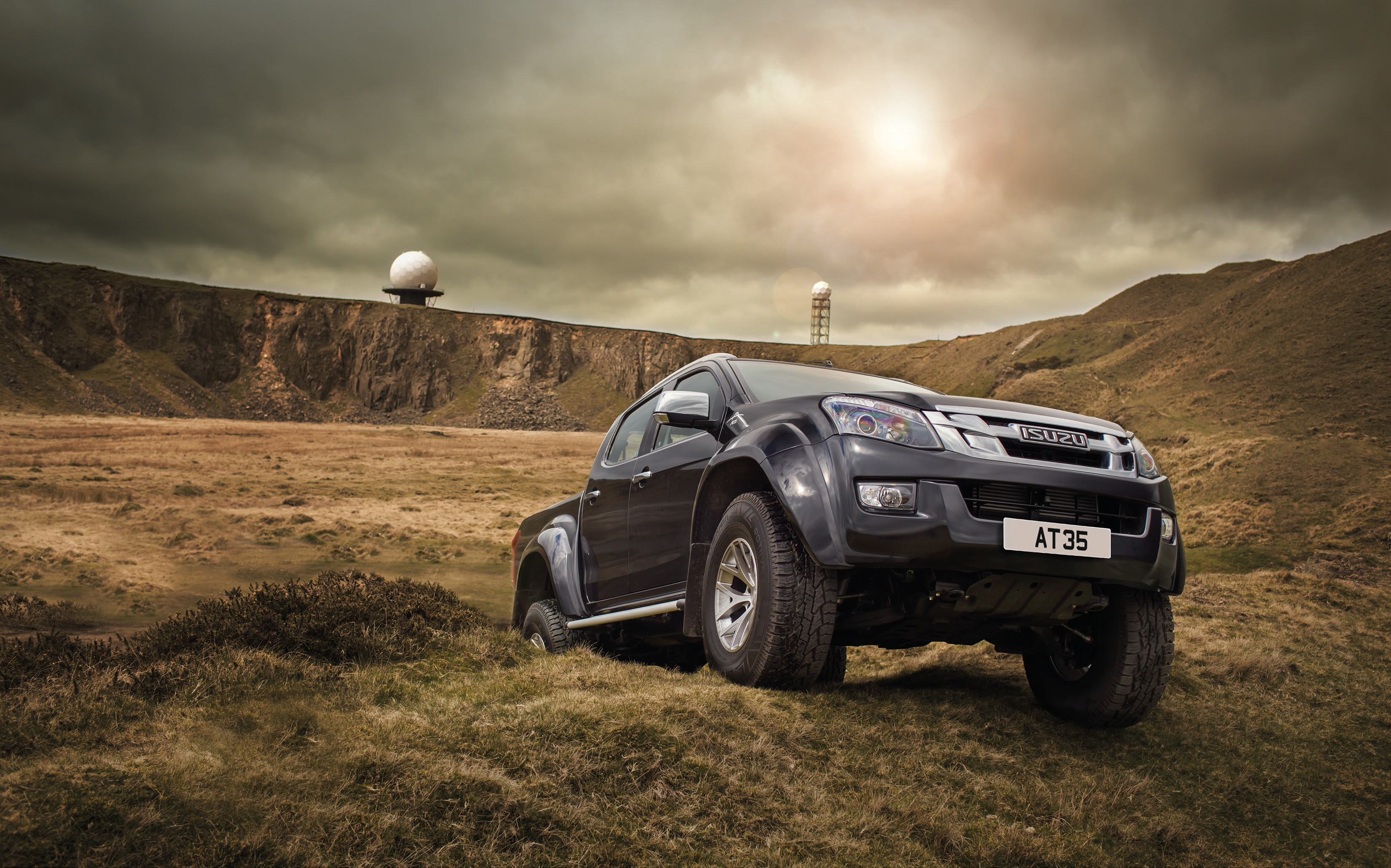 Wallpaper Arctic Trucks, Isuzu D-Max AT35, Truck, Cars ...