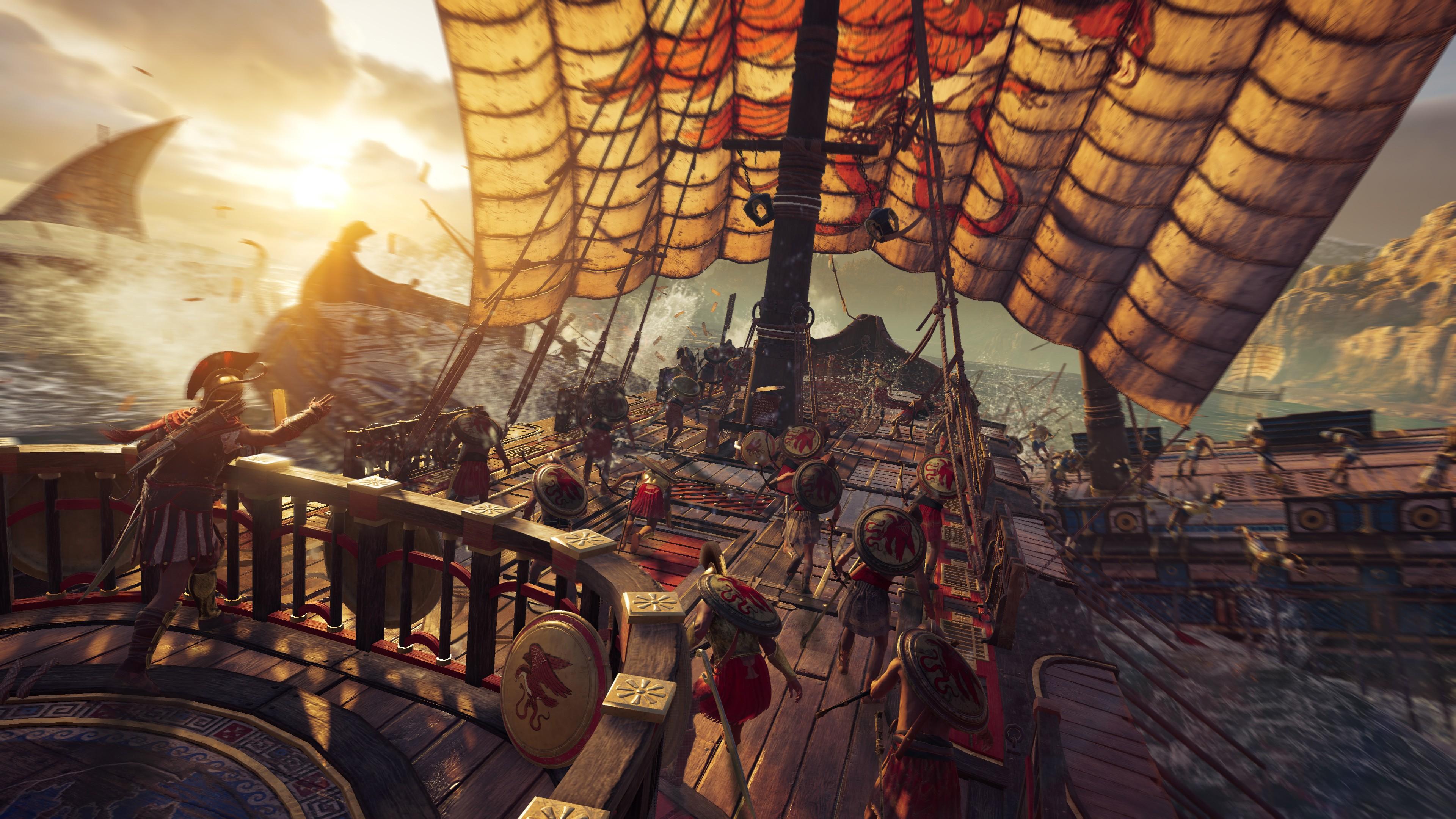 Wallpaper Assassin U0026 39 S Creed Odyssey E3 2018 Screenshot