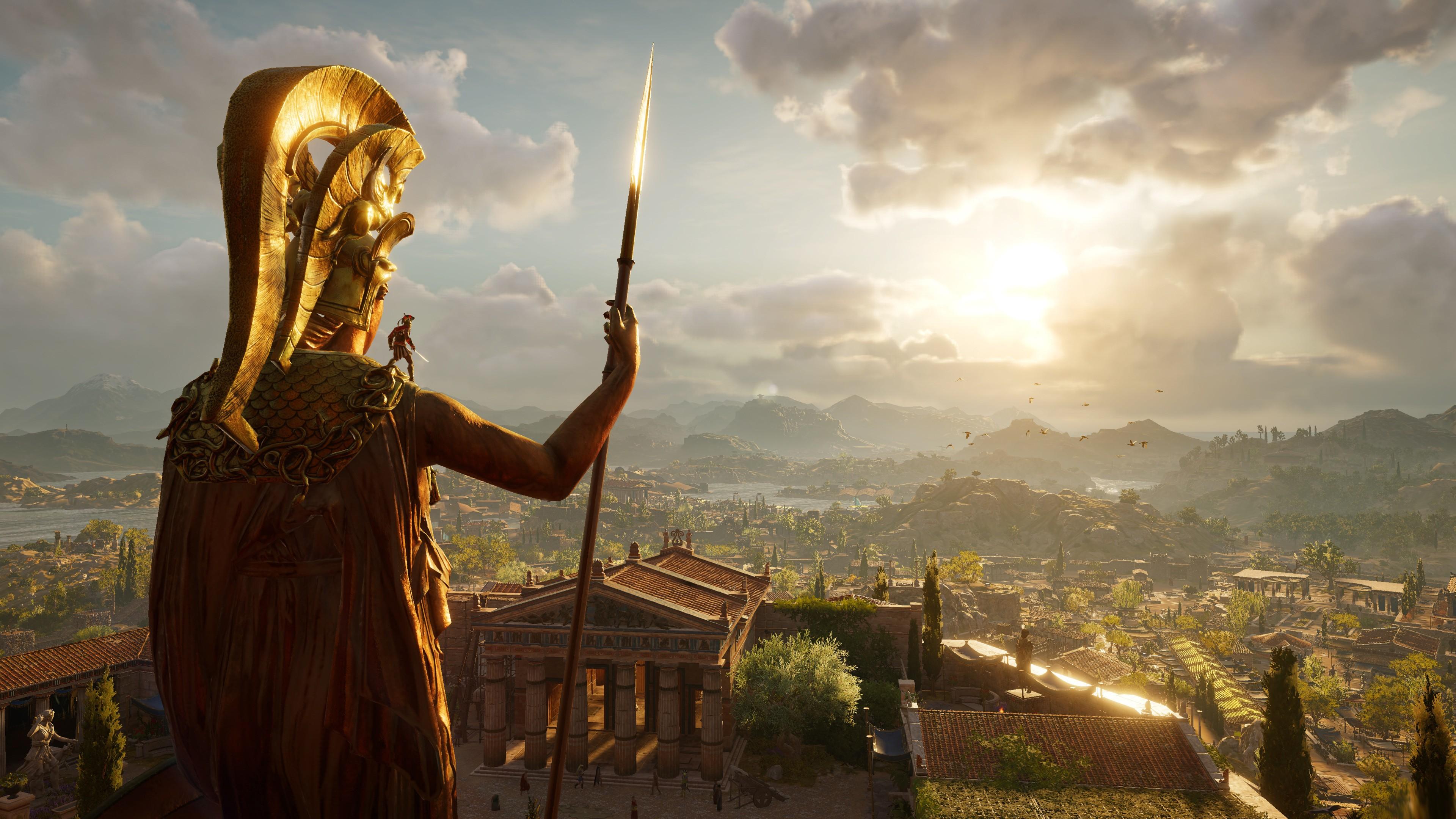 Wallpaper Assassin's Creed Odyssey, E3 2018, Screenshot