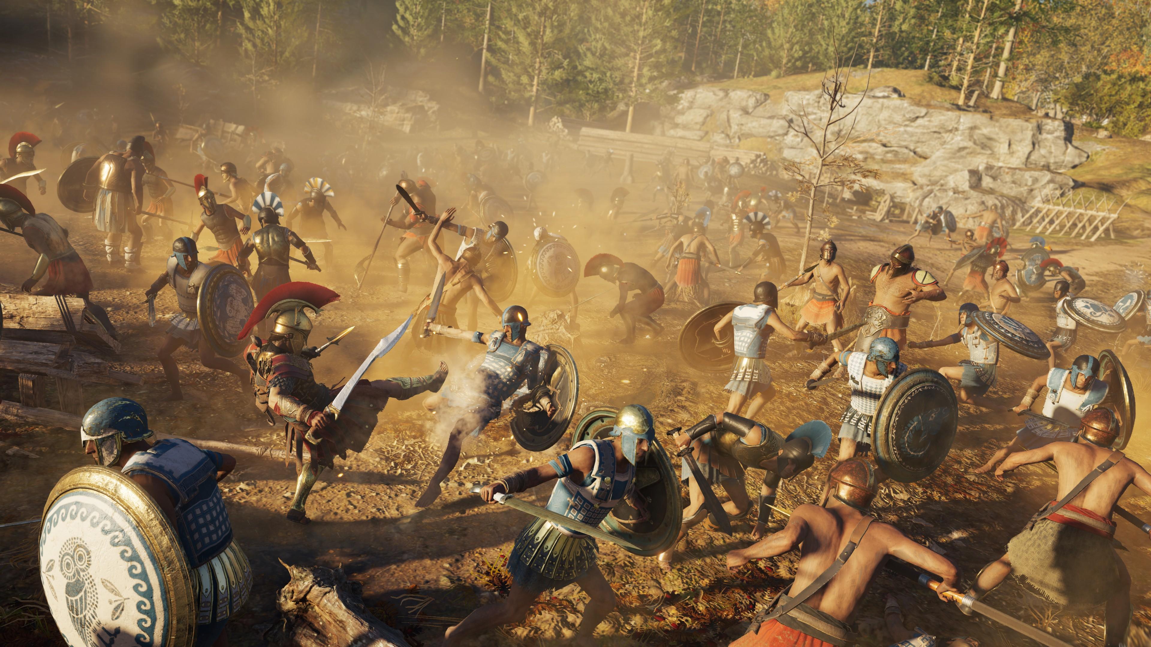 Assassin S Creed Odyssey 4k 8k Hd Wallpaper 5