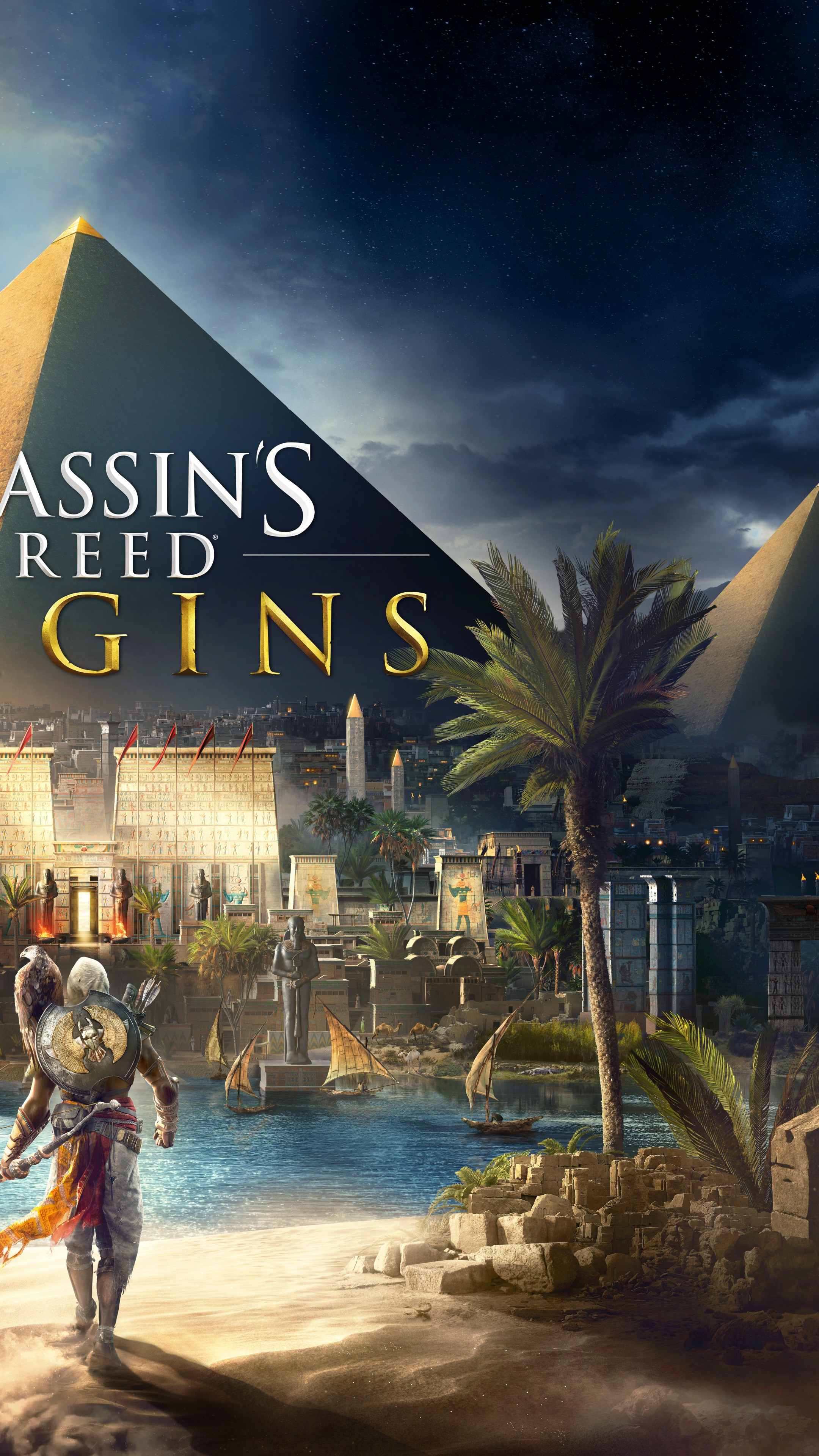 Wallpaper Assassins Creed Origins 4k E3 2017 Poster