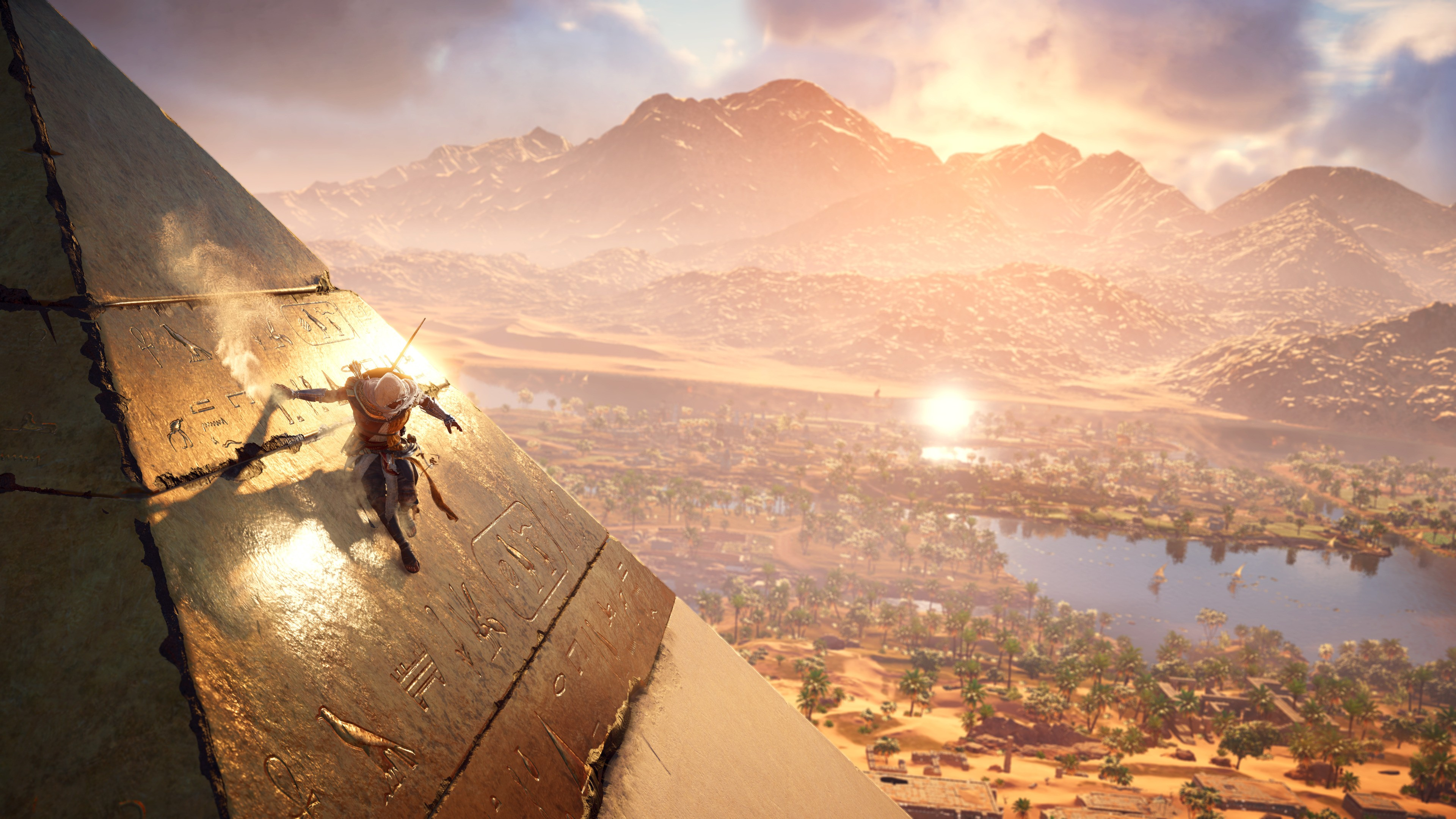 wallpaper assassin u0026 39 s creed origins  4k  e3 2017