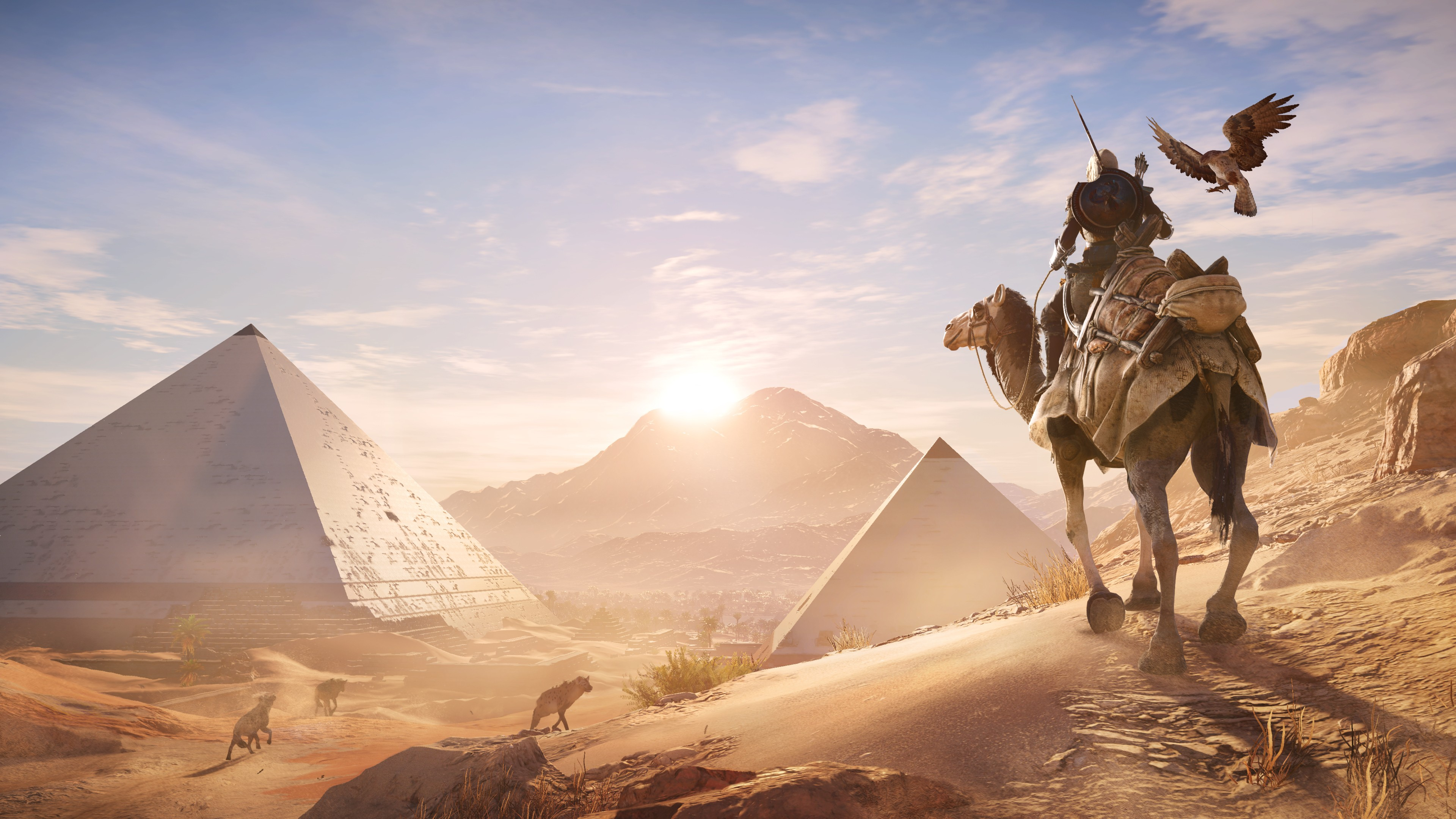 Wallpaper Assassin's Creed Origins, 4k, E3 2017