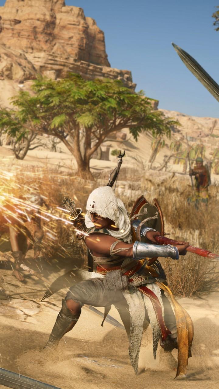 Wallpaper Assassin S Creed Origins 4k E3 2017