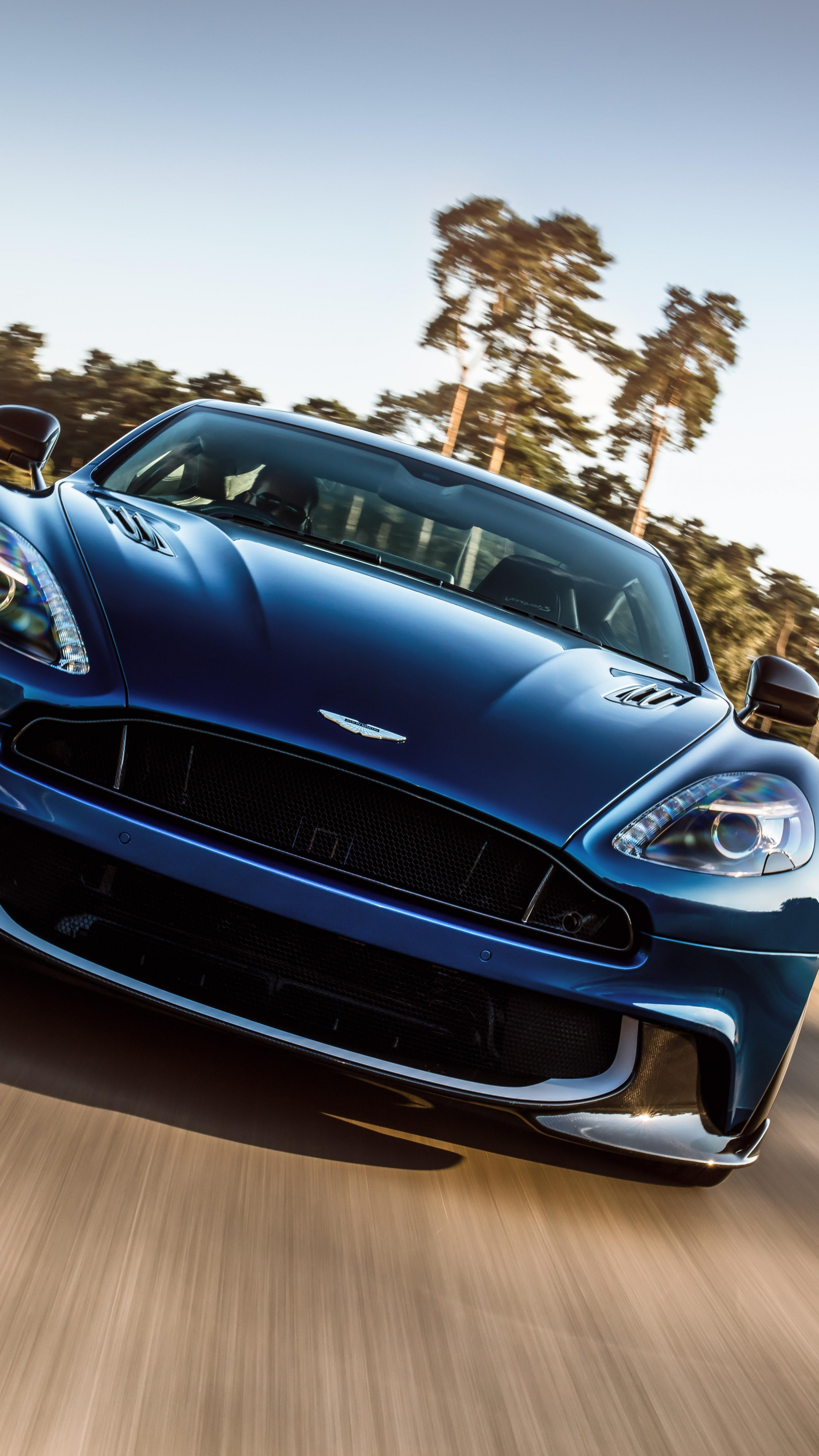 Wallpaper Aston Martin Vanquish Supercar La Auto Show