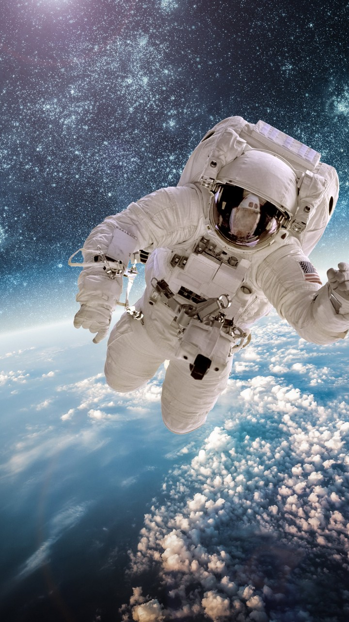 Wallpaper astronaut stars space galaxy 5k space 17776 - Space wallpaper 4k for mobile ...