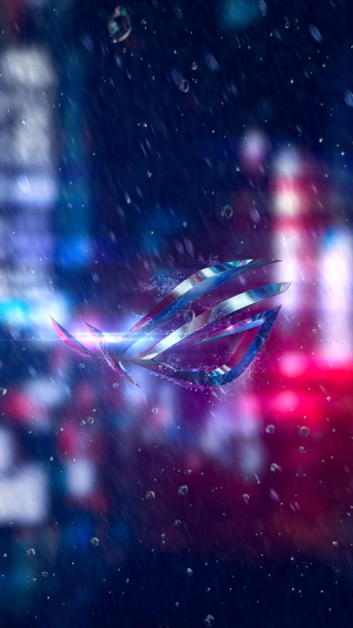 Wallpaper Asus ROG Phone, Abstract, Colorful, Android 8.0