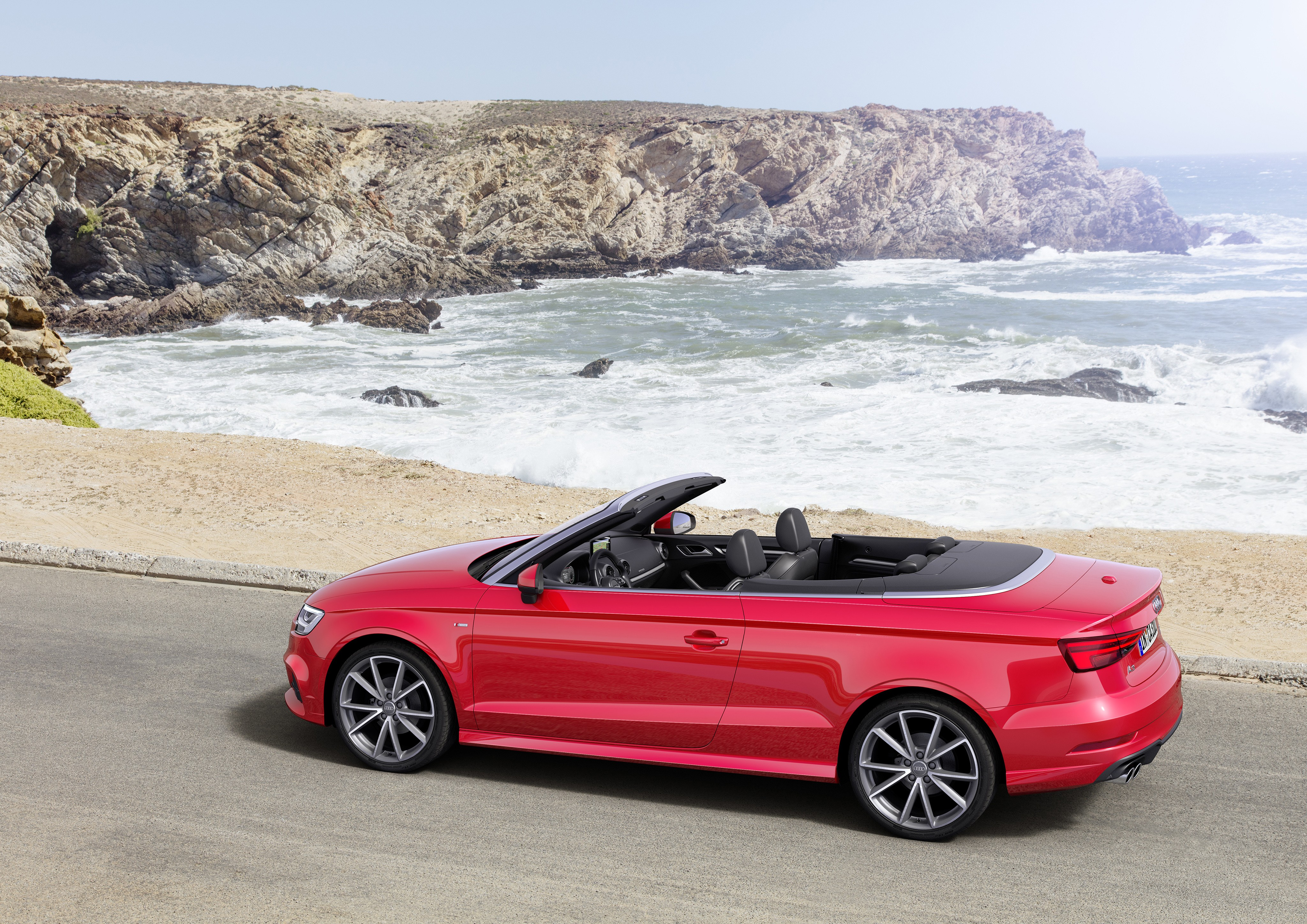wallpaper audi a3 cabriolet red cars bikes 10262. Black Bedroom Furniture Sets. Home Design Ideas