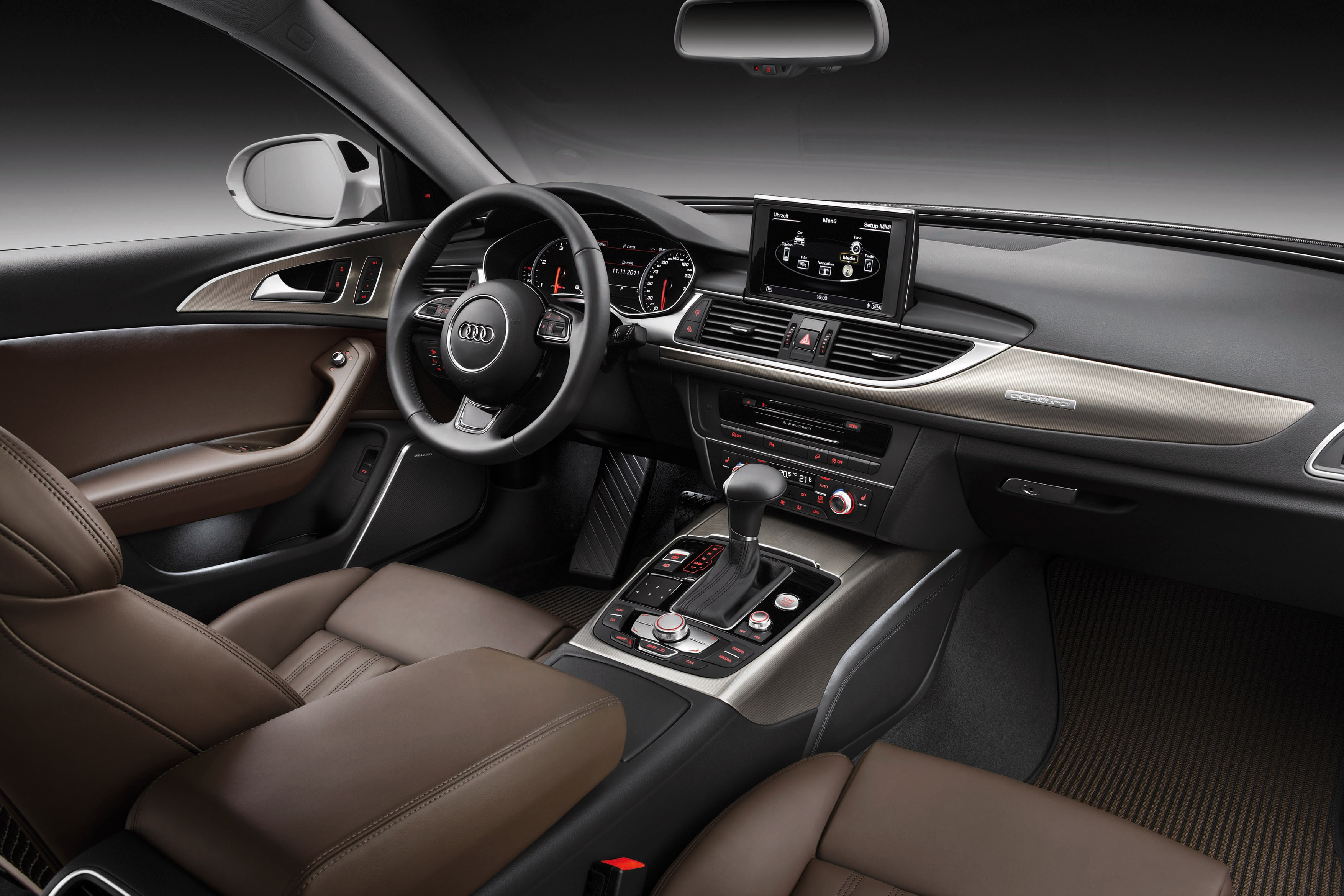 Wallpaper audi a6 c7 quattro off road audi rs 6 for Interieur cuir audi a6