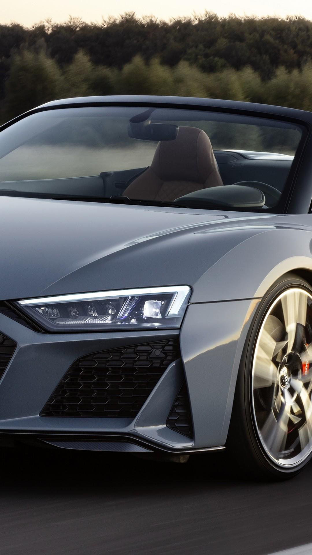 Wallpaper Audi R8 V10 Spyder 2019 Cars 4k Cars Amp Bikes