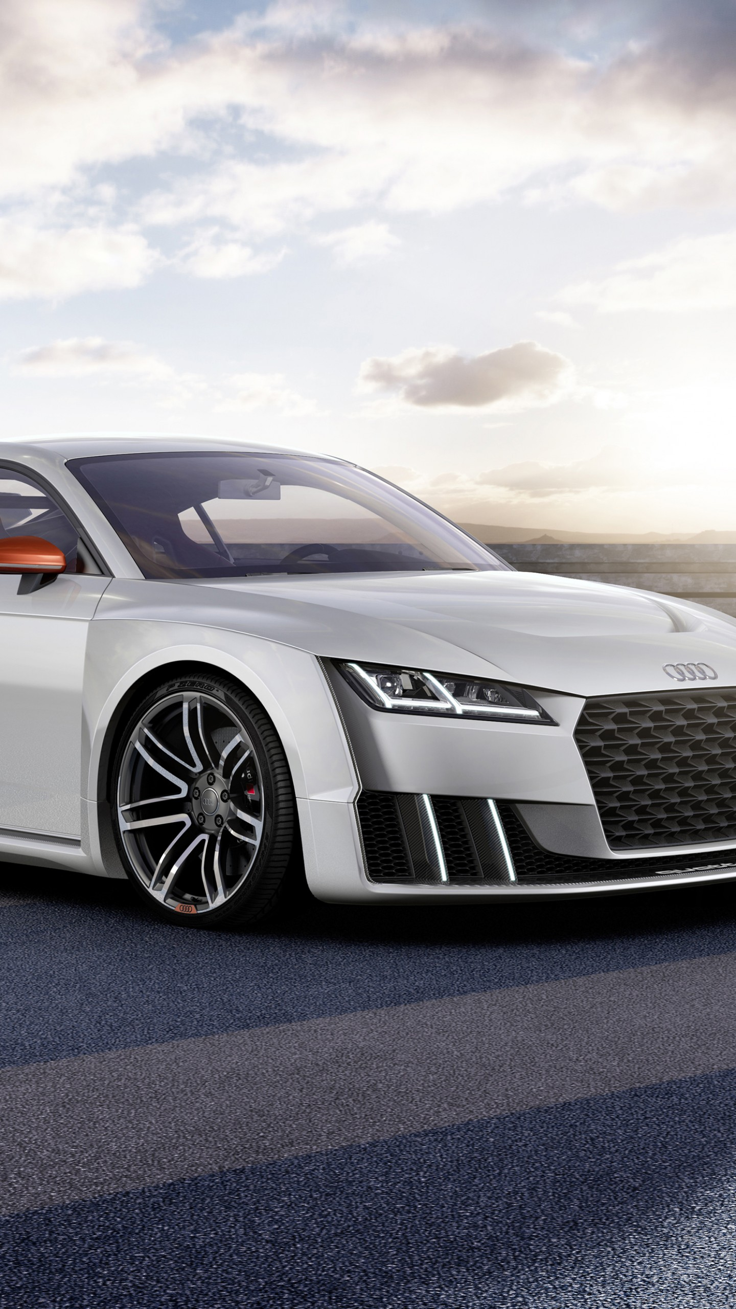 Wallpaper Audi Tt Clubsport Turbo Concept Audi Sports