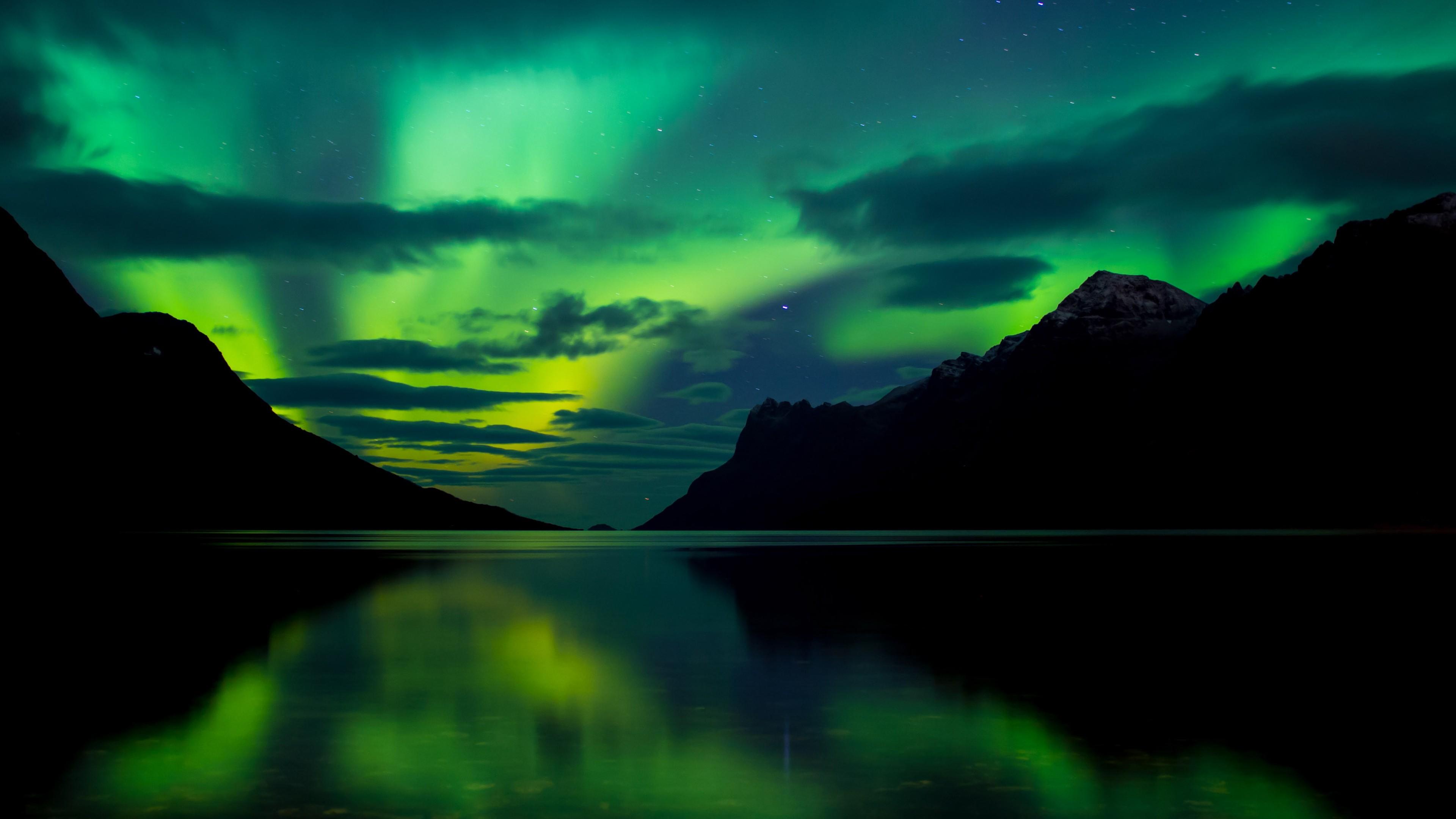 4k Hd Wallapaper: Wallpaper Aurora Borealis, 5k, 4k Wallpaper, Abisko