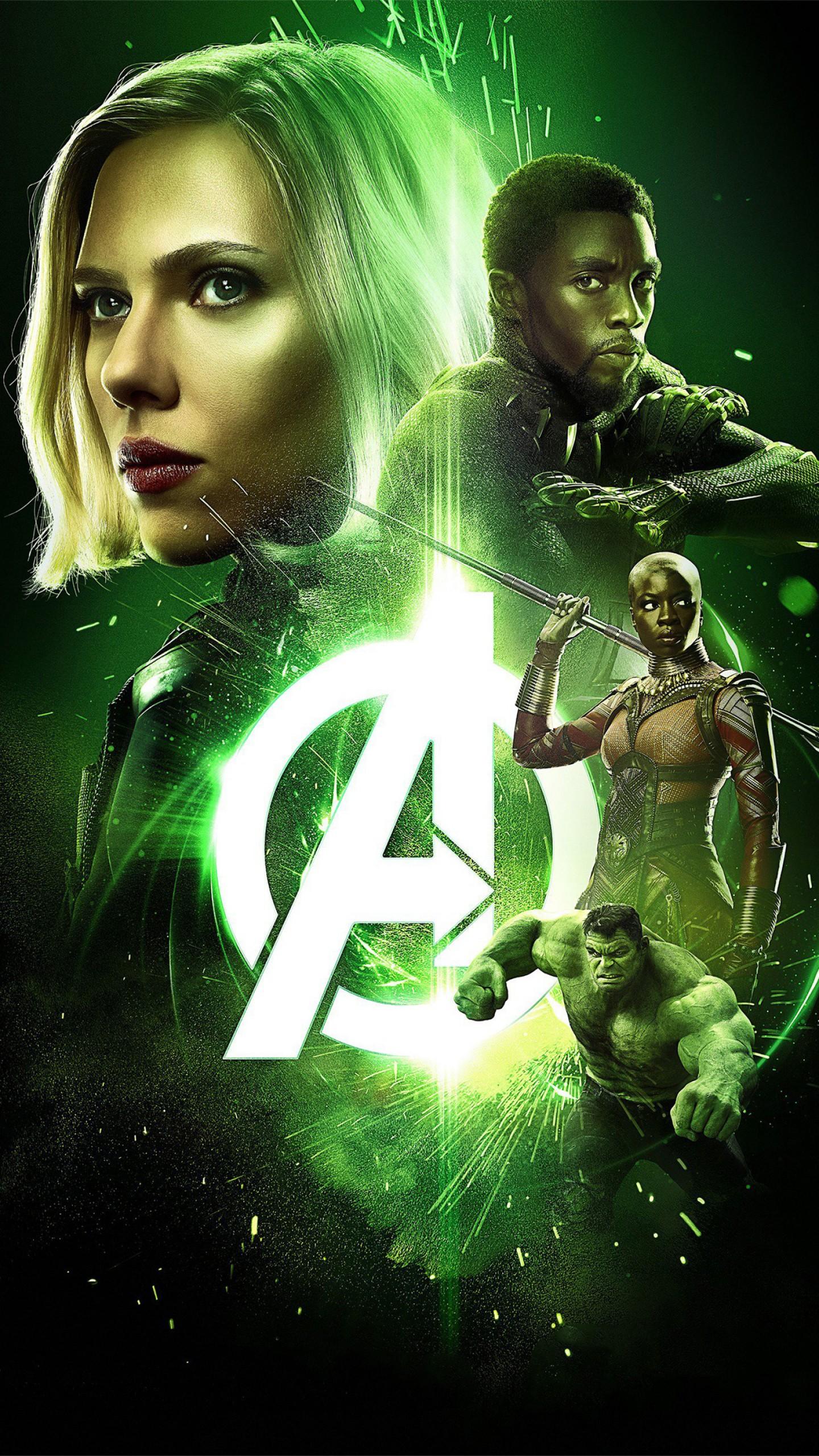Wallpaper Avengers Infinity War Black Widow Scarlett