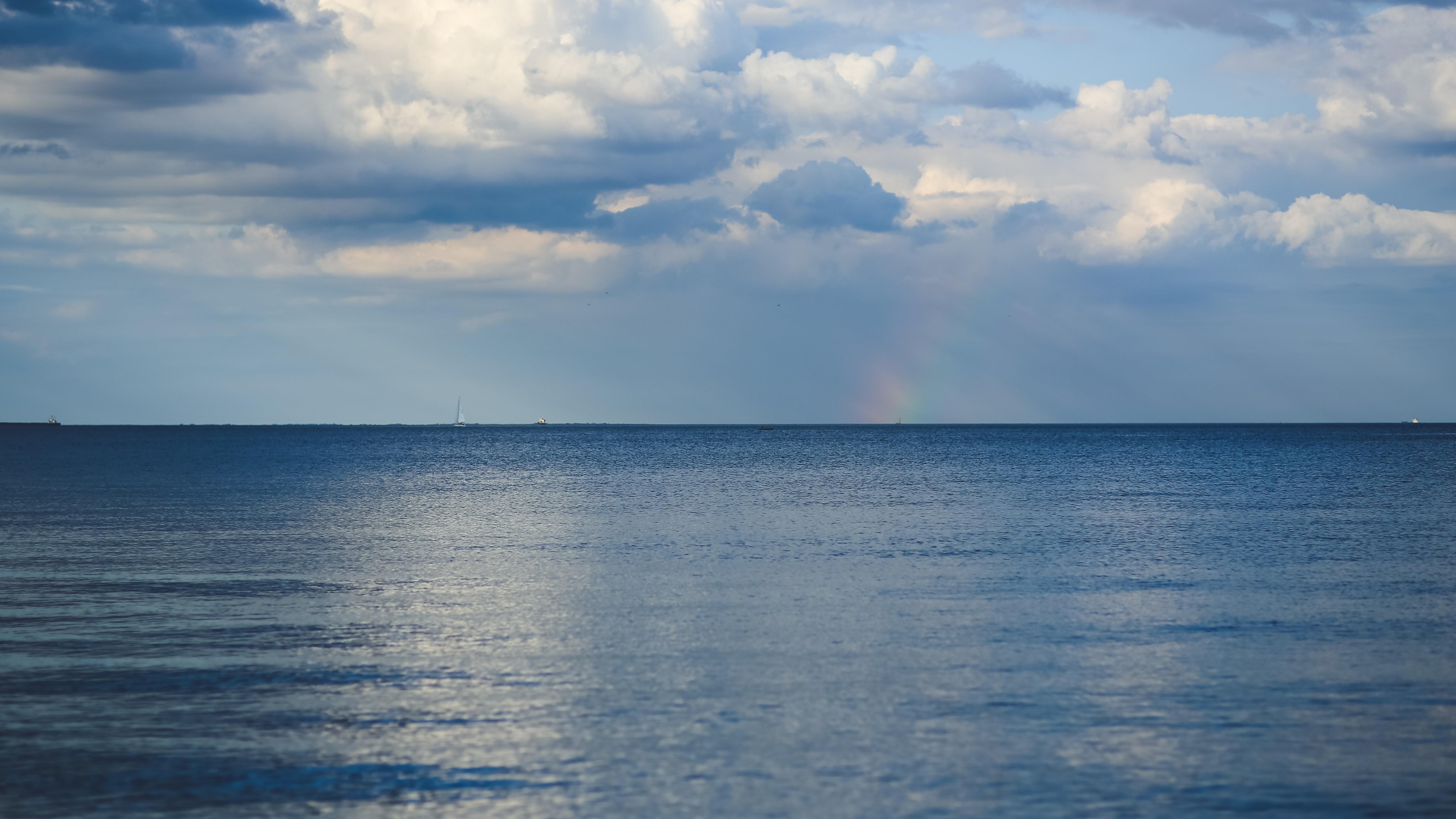 Wallpaper Baltic sea, 5k, 4k wallpaper, 8k, horizon, sky ...