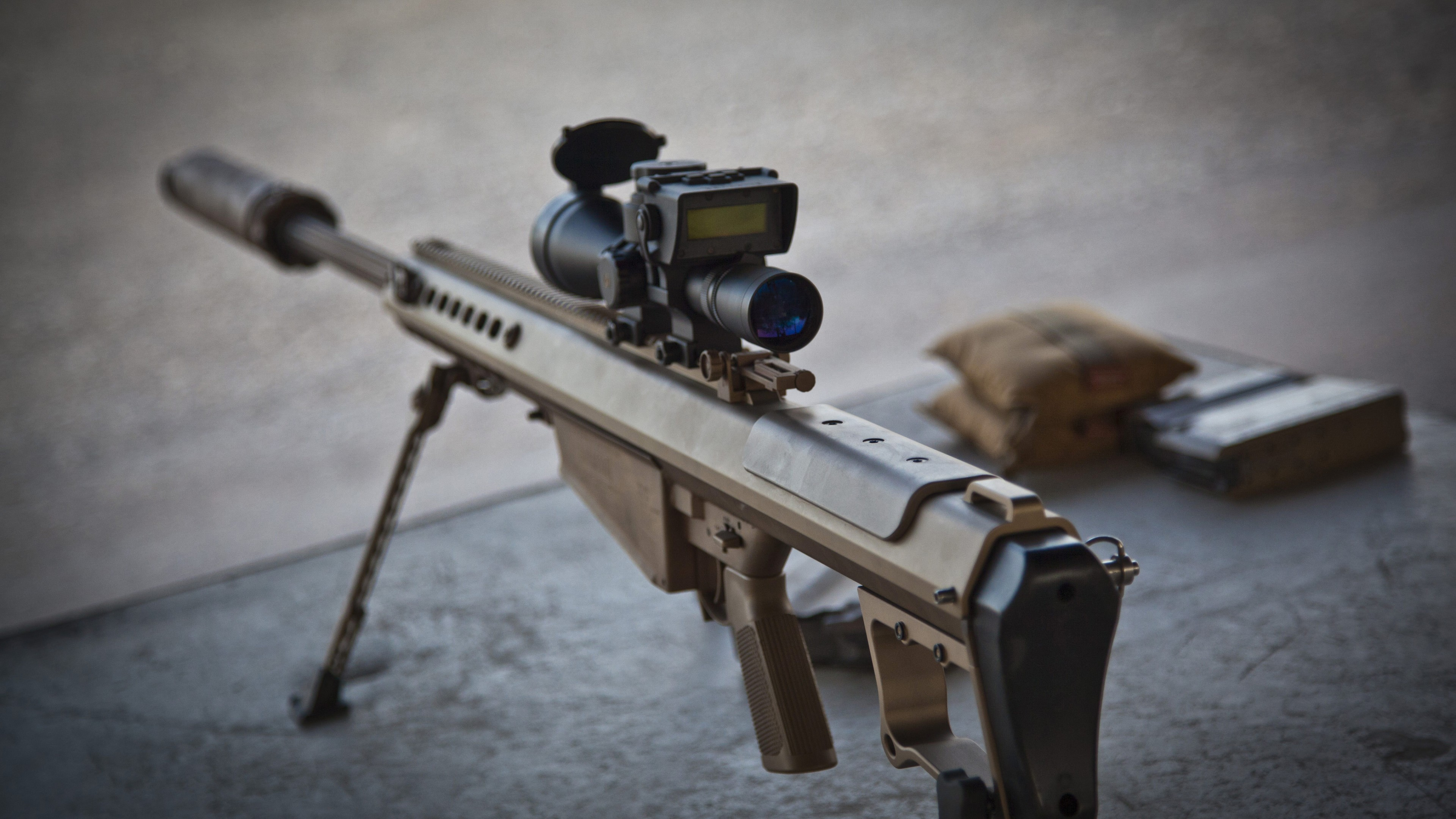 Anti Materiel Rifle wallpaper barrett, m82a1, m107, m82, light fifty, anti