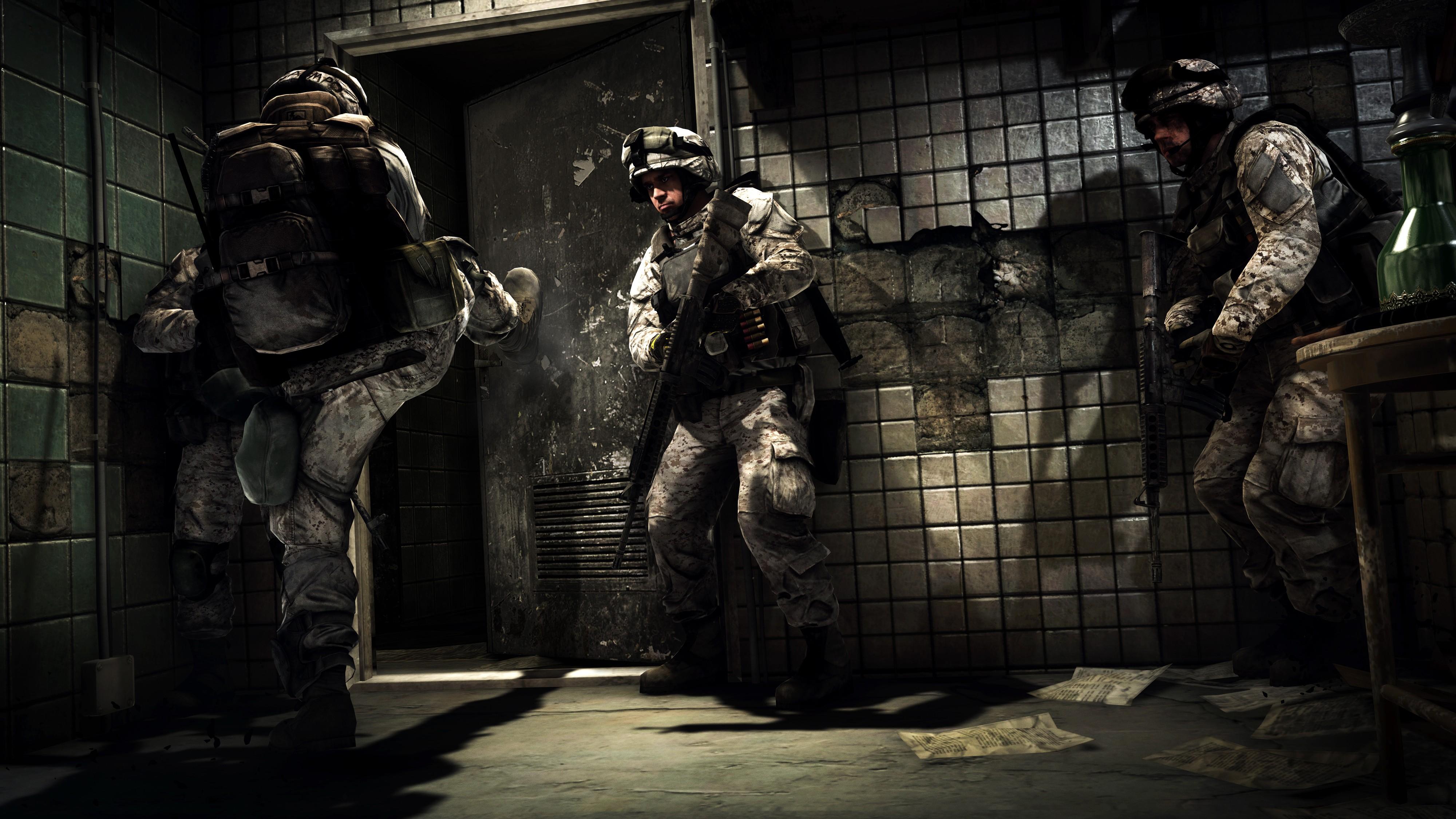 Wallpaper Battlefield 3, game, shooter, soldier, assault