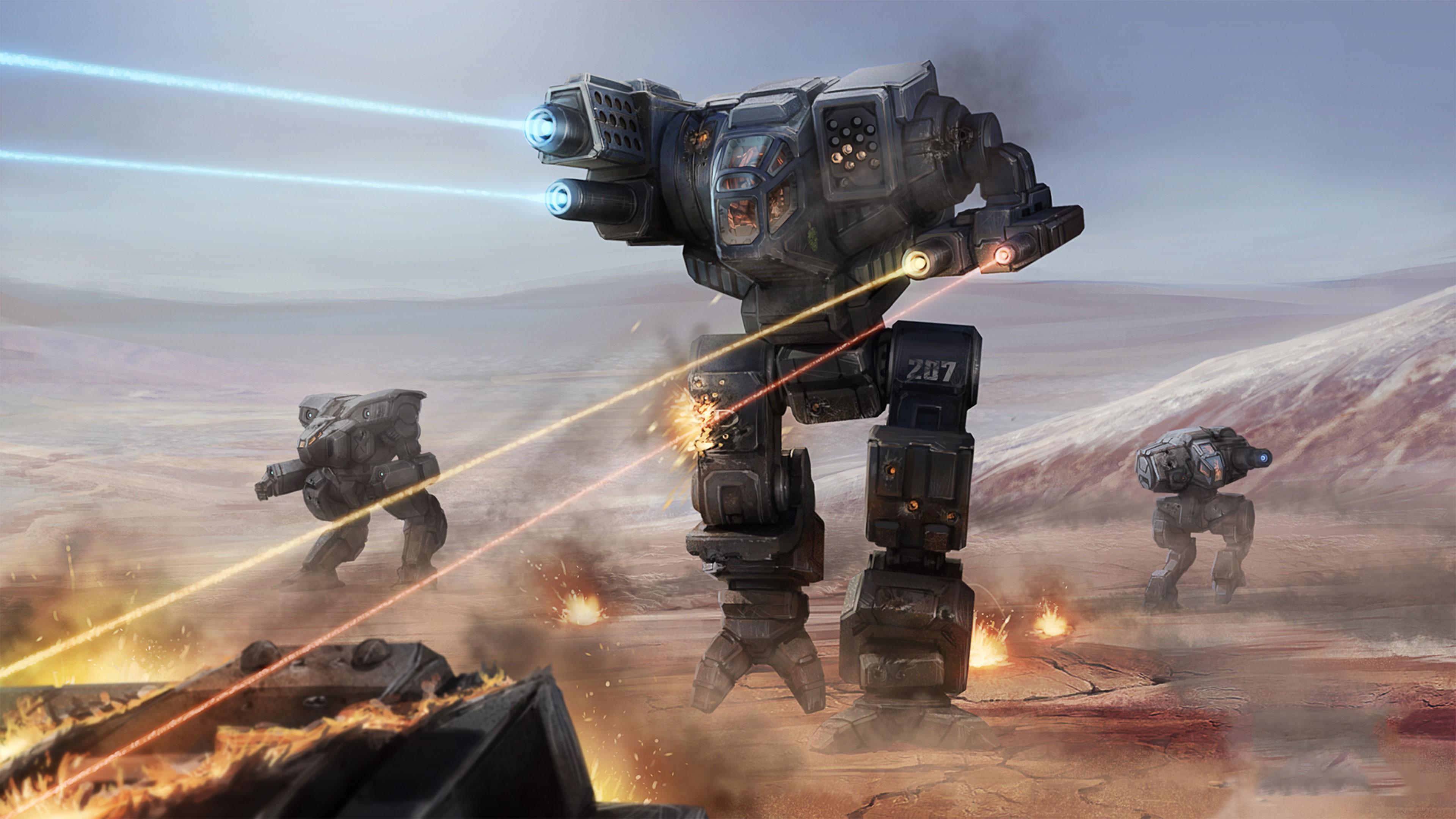 Wallpaper BattleTech, 4k, E3 2017, screenshot, Games #14425