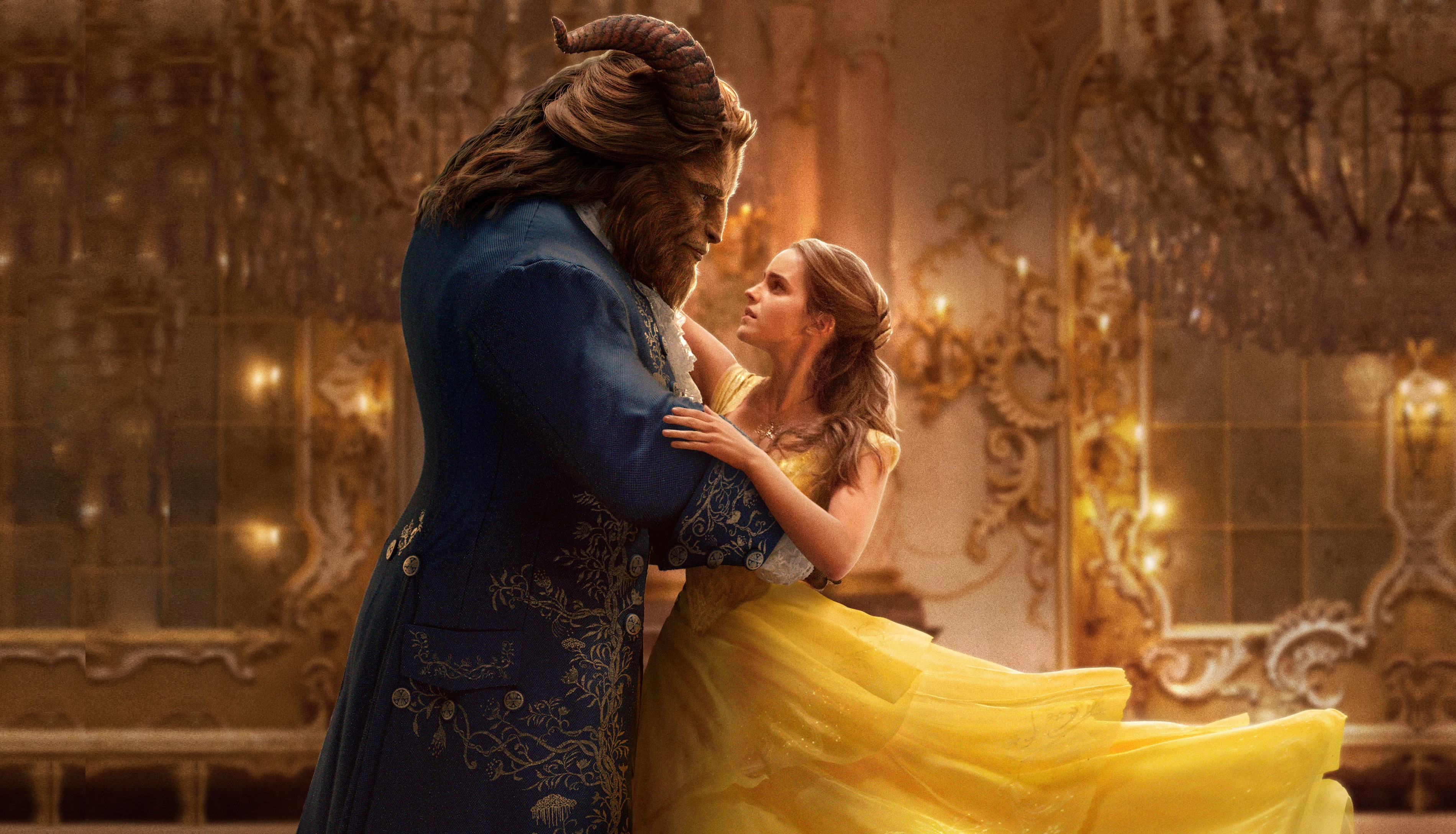 Wallpaper Beauty And The Beast Emma Watson Best Movies Movies 12497