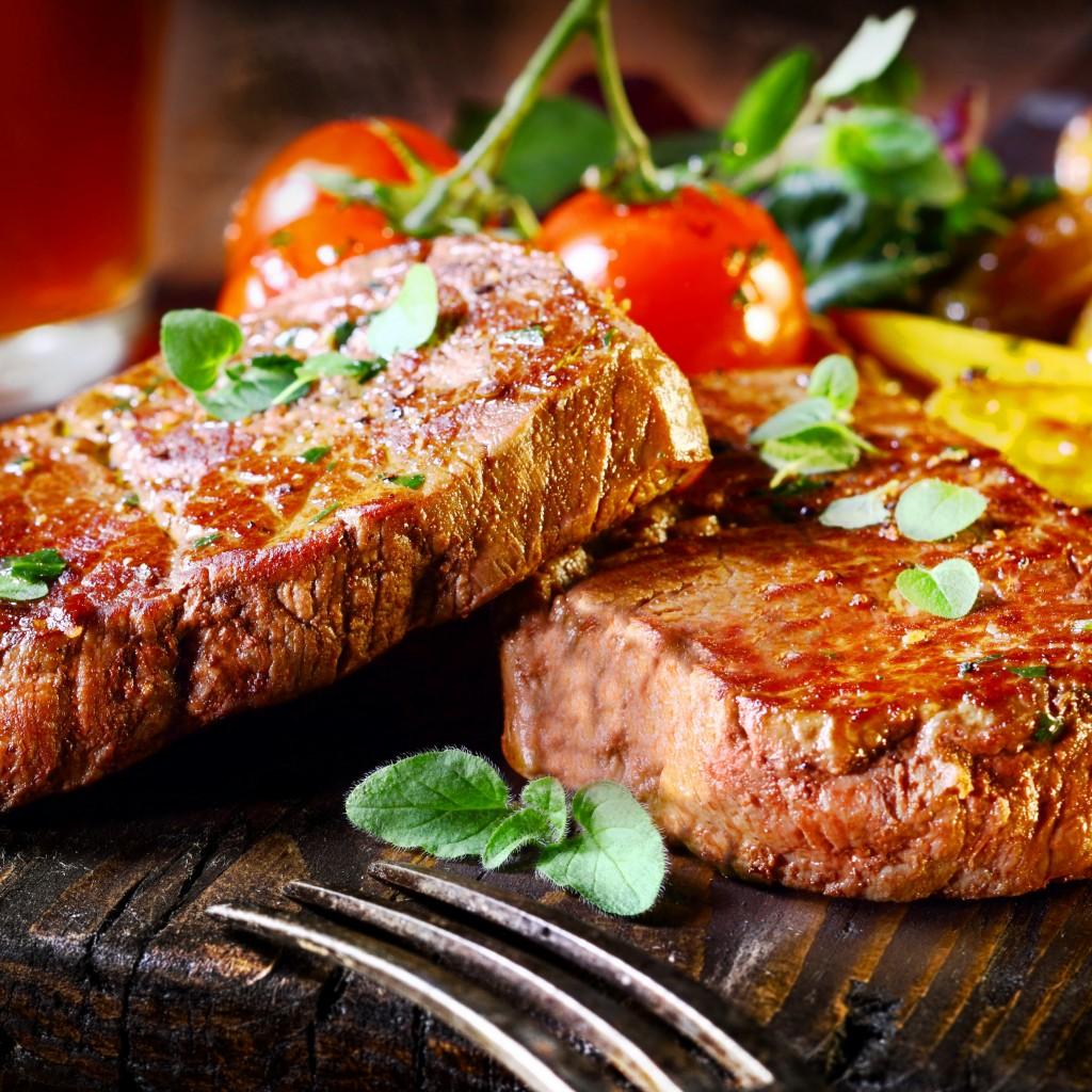wallpaper beef steak food cooking grill vegetables meal meat tomato leaves food 408 i ve always believed that wallpaper