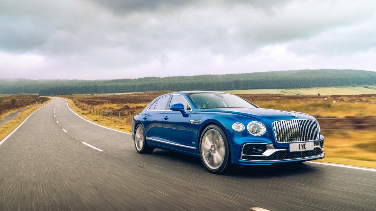 Wallpaper Bentley Flying Spur Luxury Cars 2020 Cars 4k