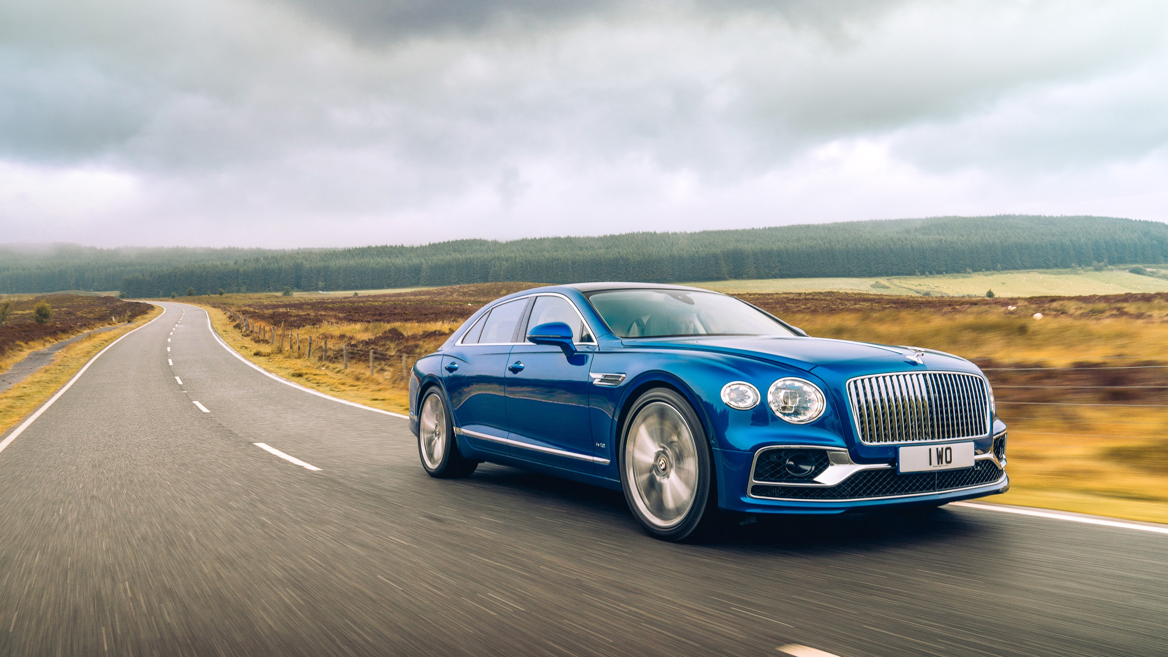 Wallpaper Bentley Flying Spur Luxury Cars 2020 Cars 4k