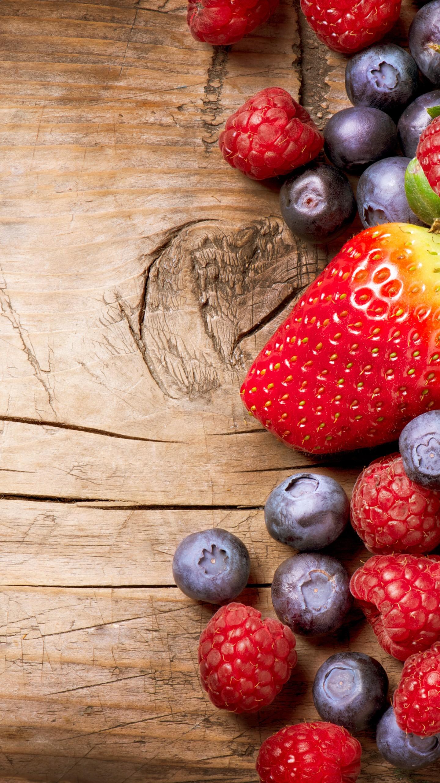 Wallpaper Berries Fruits Strawberry Raspberry