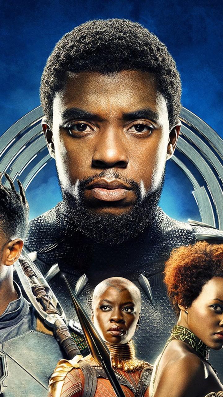 Wallpaper Black Panther, Chadwick Boseman, Michael B ...