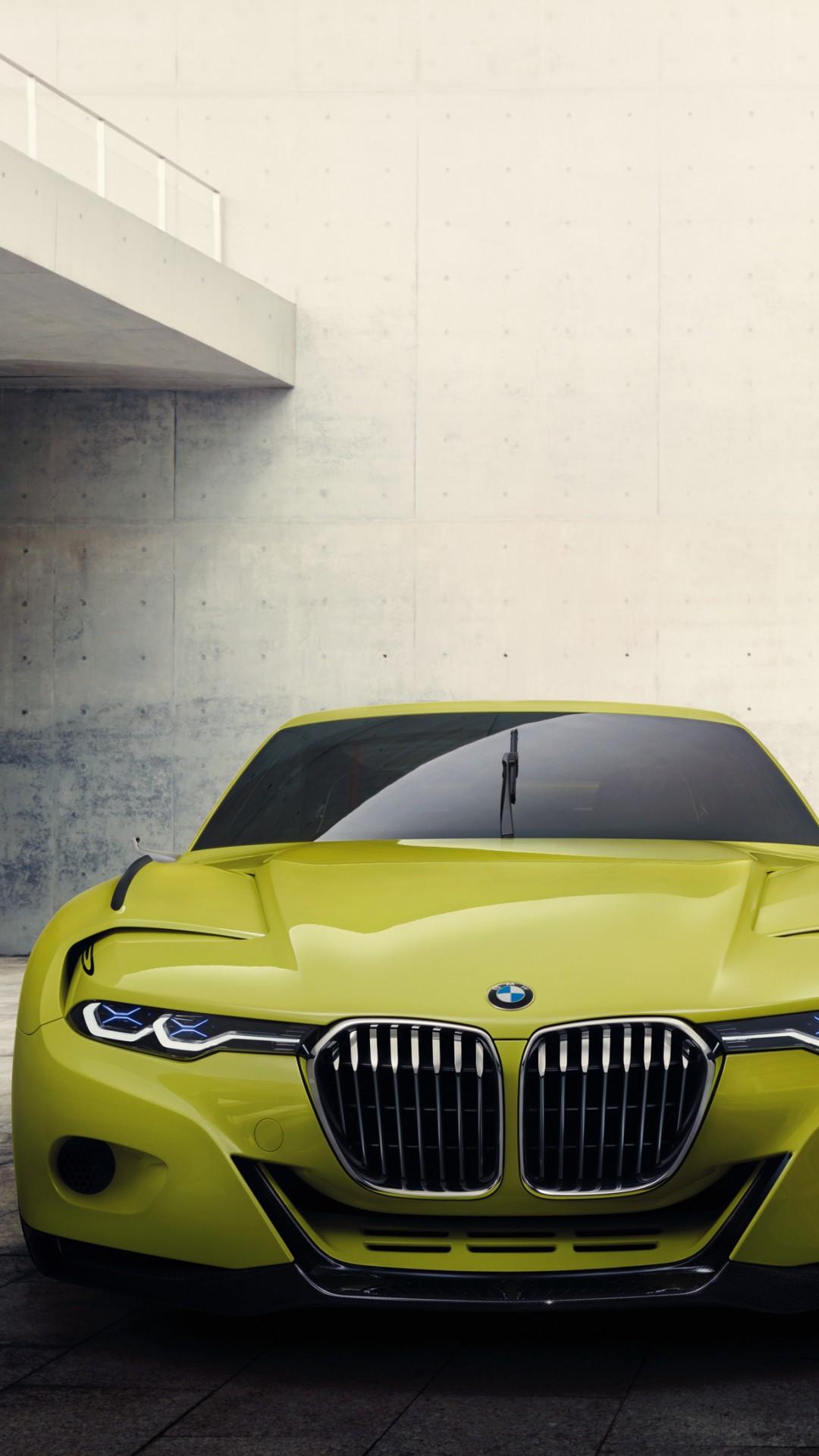 Wallpaper Bmw 3 0 Csl Yellow Sports Car Bmw Xdrive