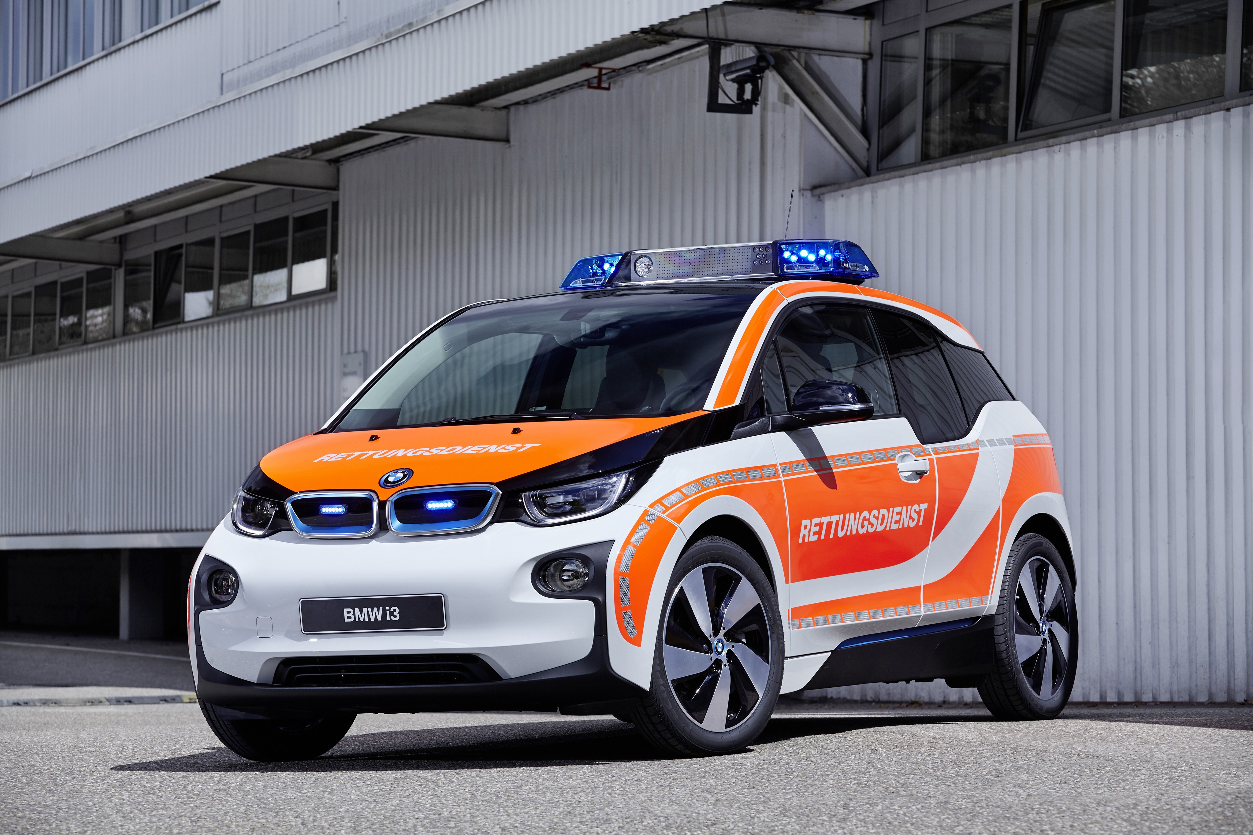 Wallpaper Bmw I3 Electric Cars Rettmobil 2016 Safety