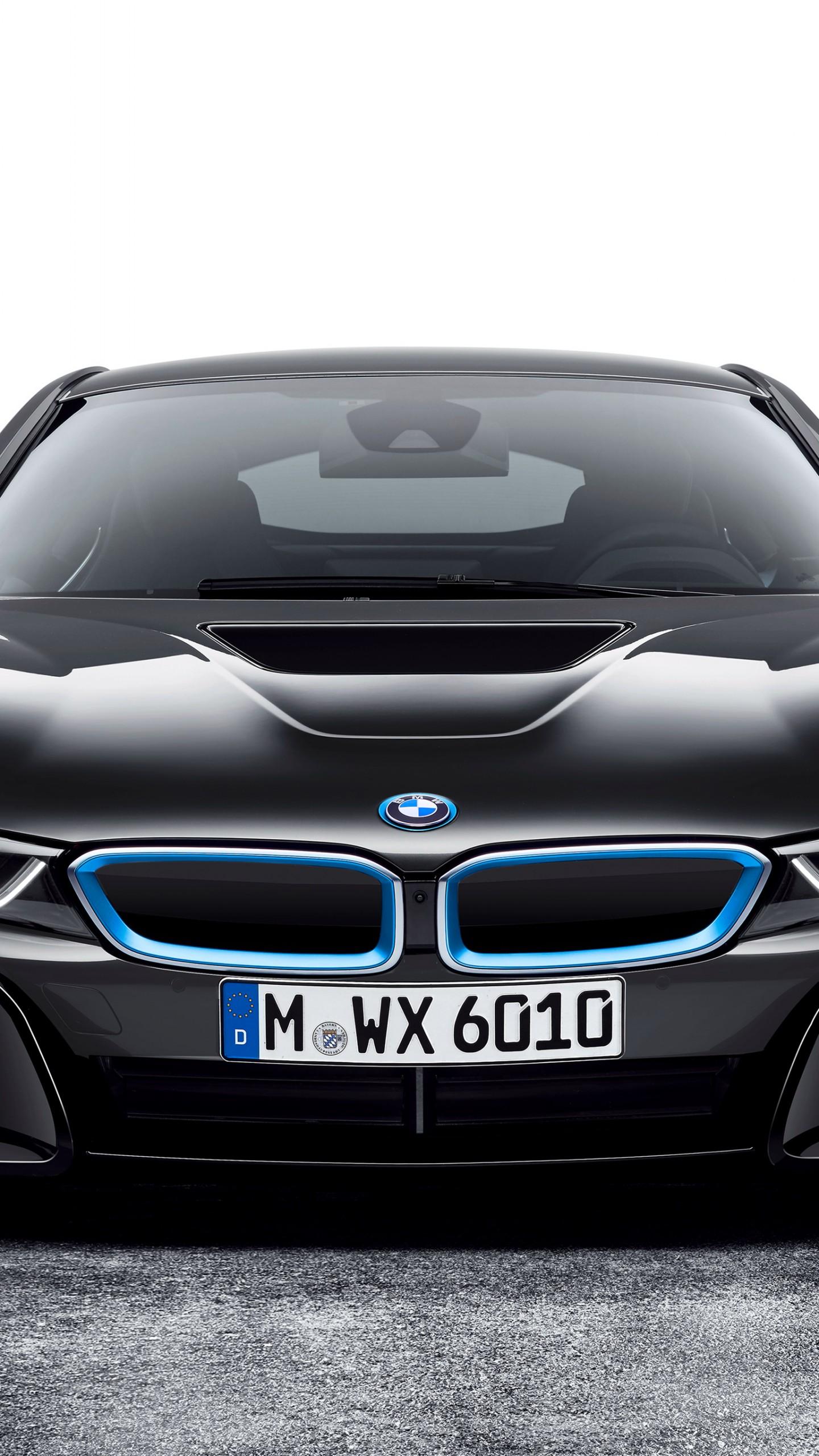 Wallpaper BMW i8, CES 2016, Hybrid, black, Cars & Bikes #8582