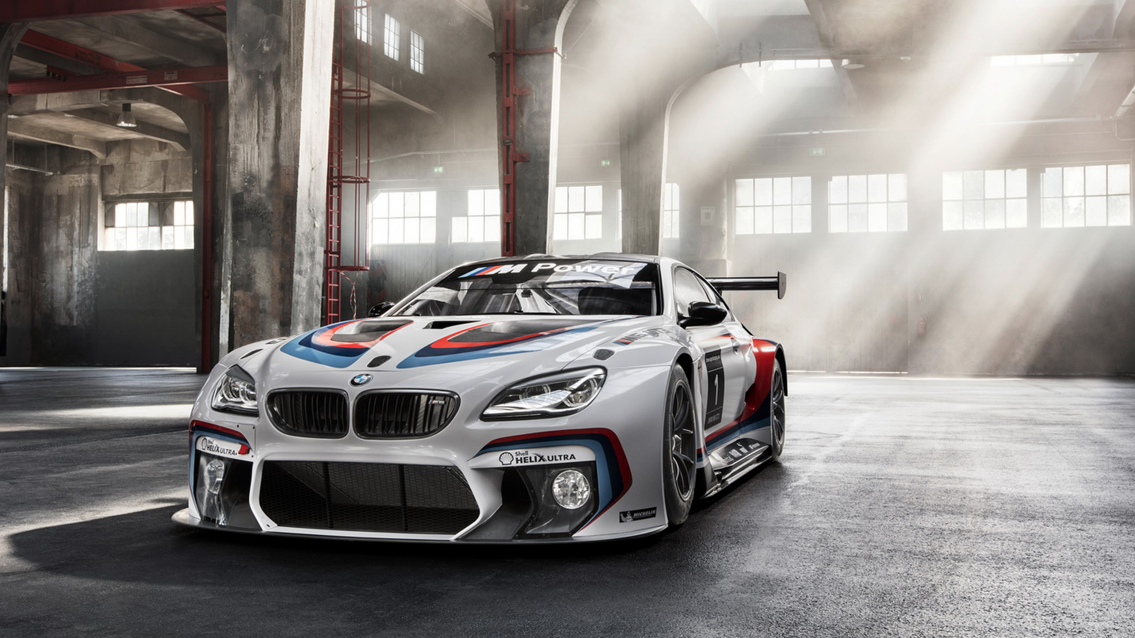 Wallpaper BMW M6 GT3, Race Car , Sport, Frankfurt 2015