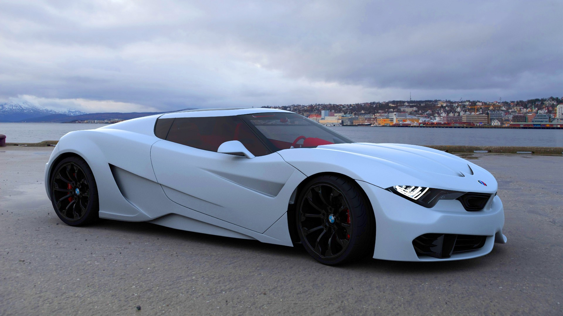 Wallpaper Bmw M9 Roadster Coupe White Cars Amp Bikes 7014