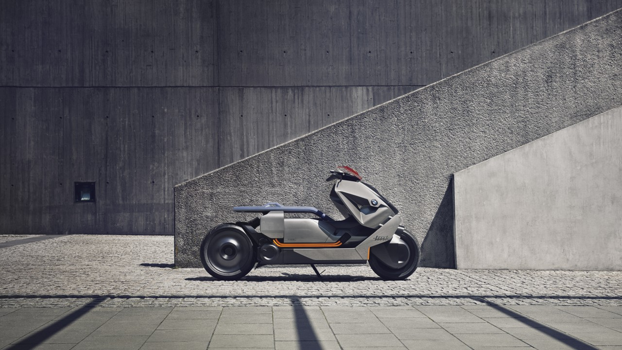 Wallpaper BMW Motorrad, Concept Link, Electric Bike, HD