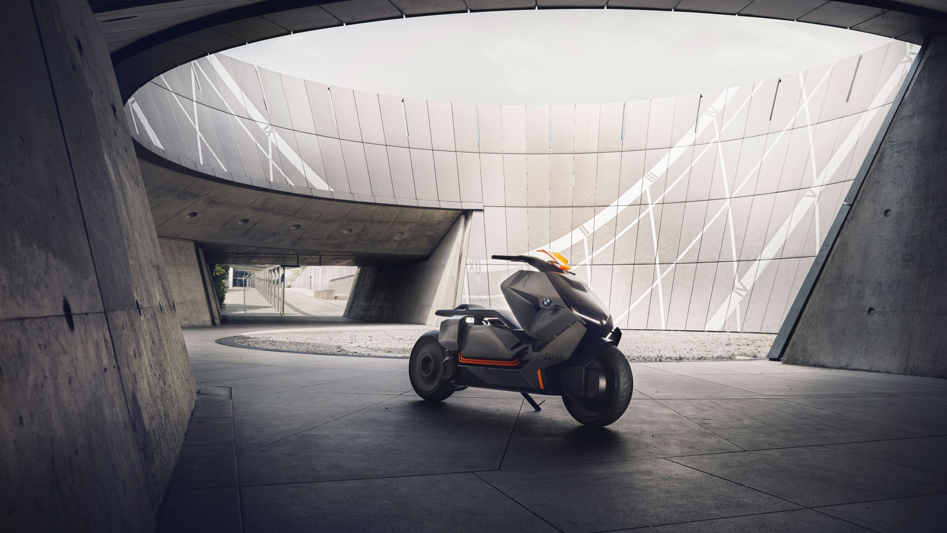 Wallpaper Bmw Motorrad Concept Link Electric Bike Hd 4k Cars