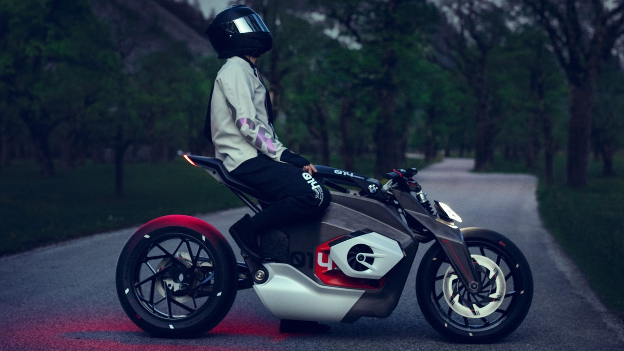 Wallpaper Bmw Motorrad Vision Dc Roadster Electric Bikes