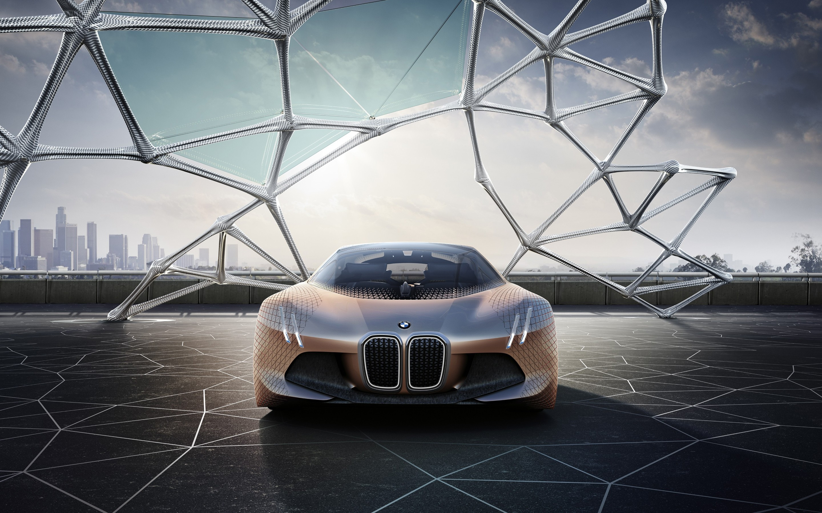 Wallpaper Bmw Vision Next Hd Wallpaper Concept Electric Car