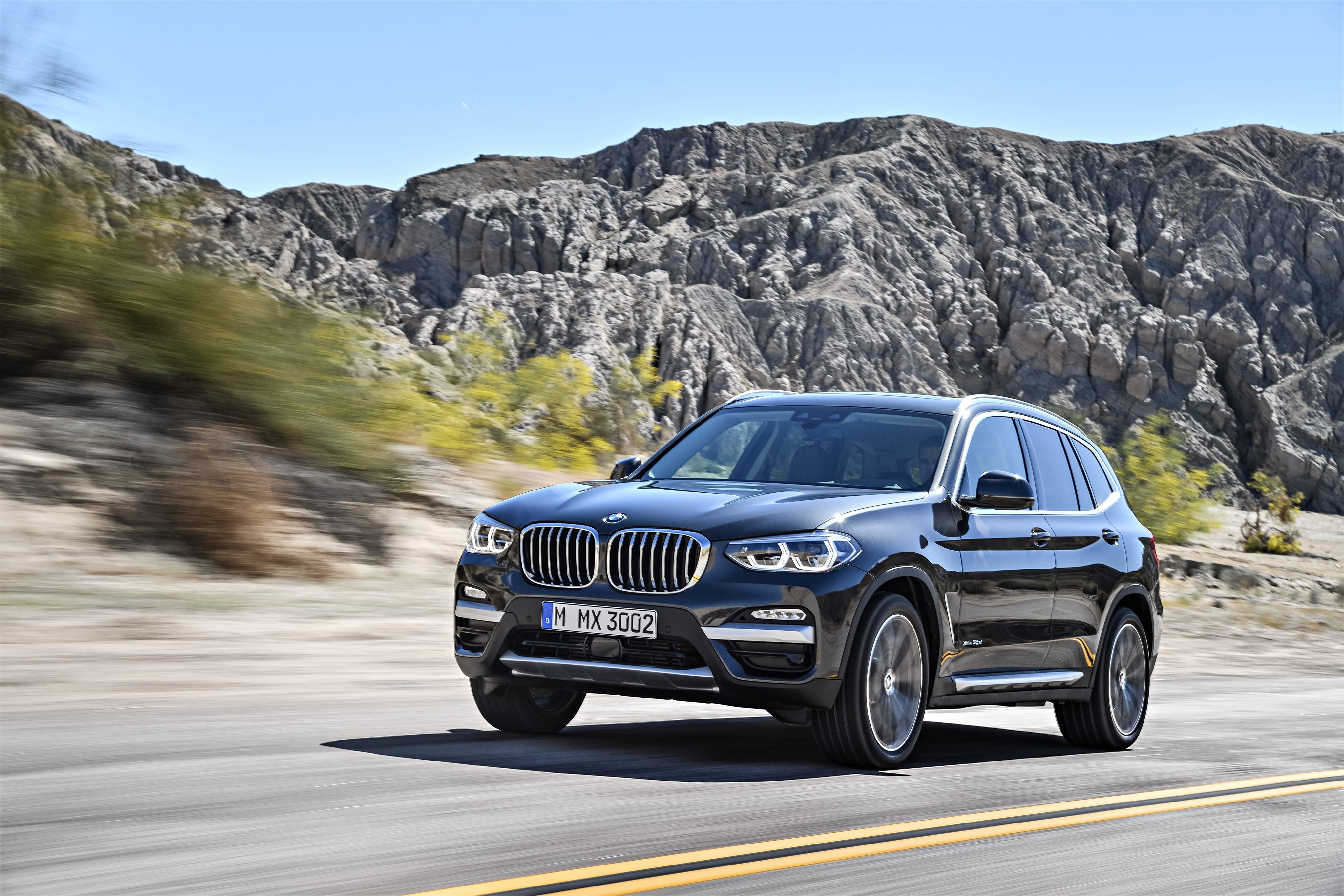 wallpaper bmw x3 2018 cars 4k cars bikes 16195. Black Bedroom Furniture Sets. Home Design Ideas