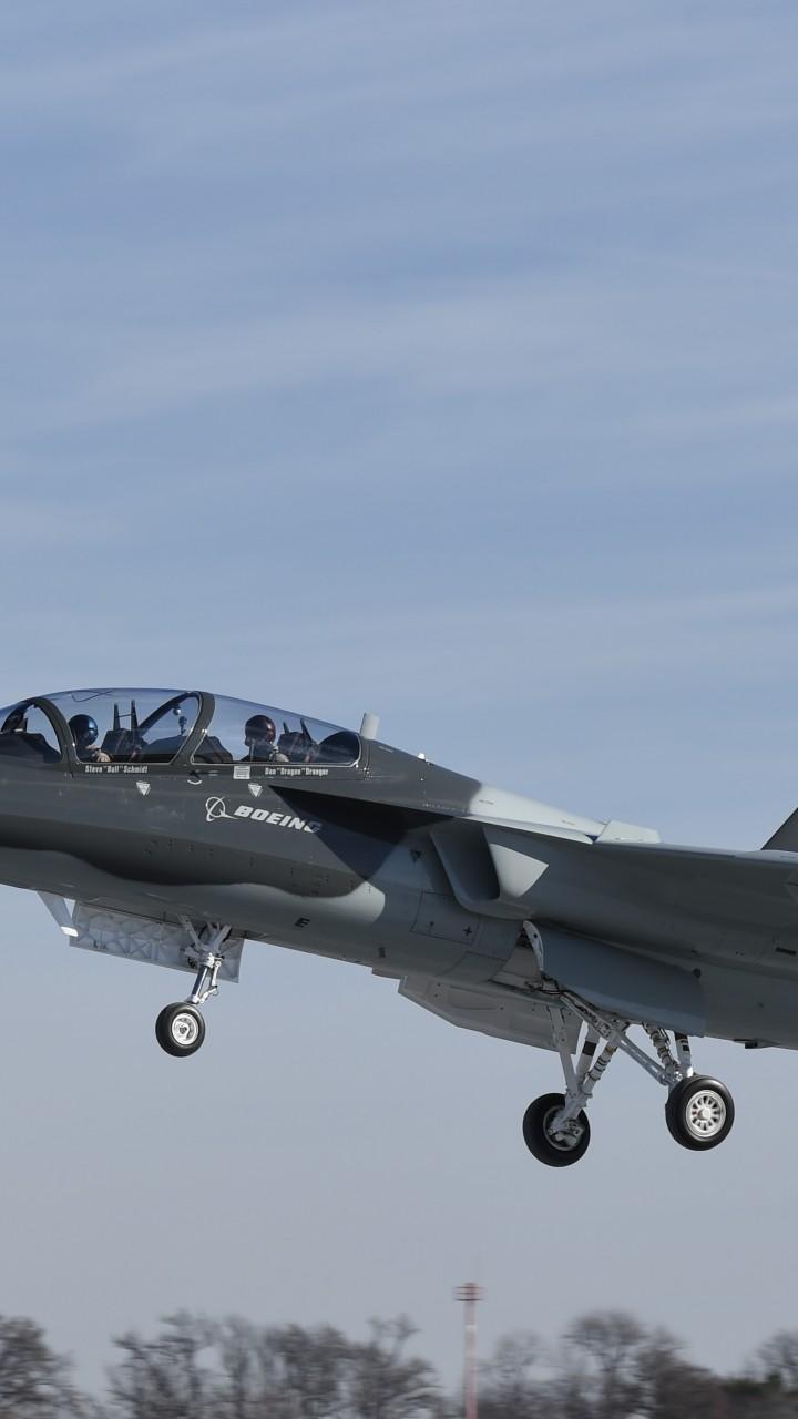 Textron Scorpion Jet News: Wallpaper Boeing T-X, Fighter Aircraft, U.S. Air Force