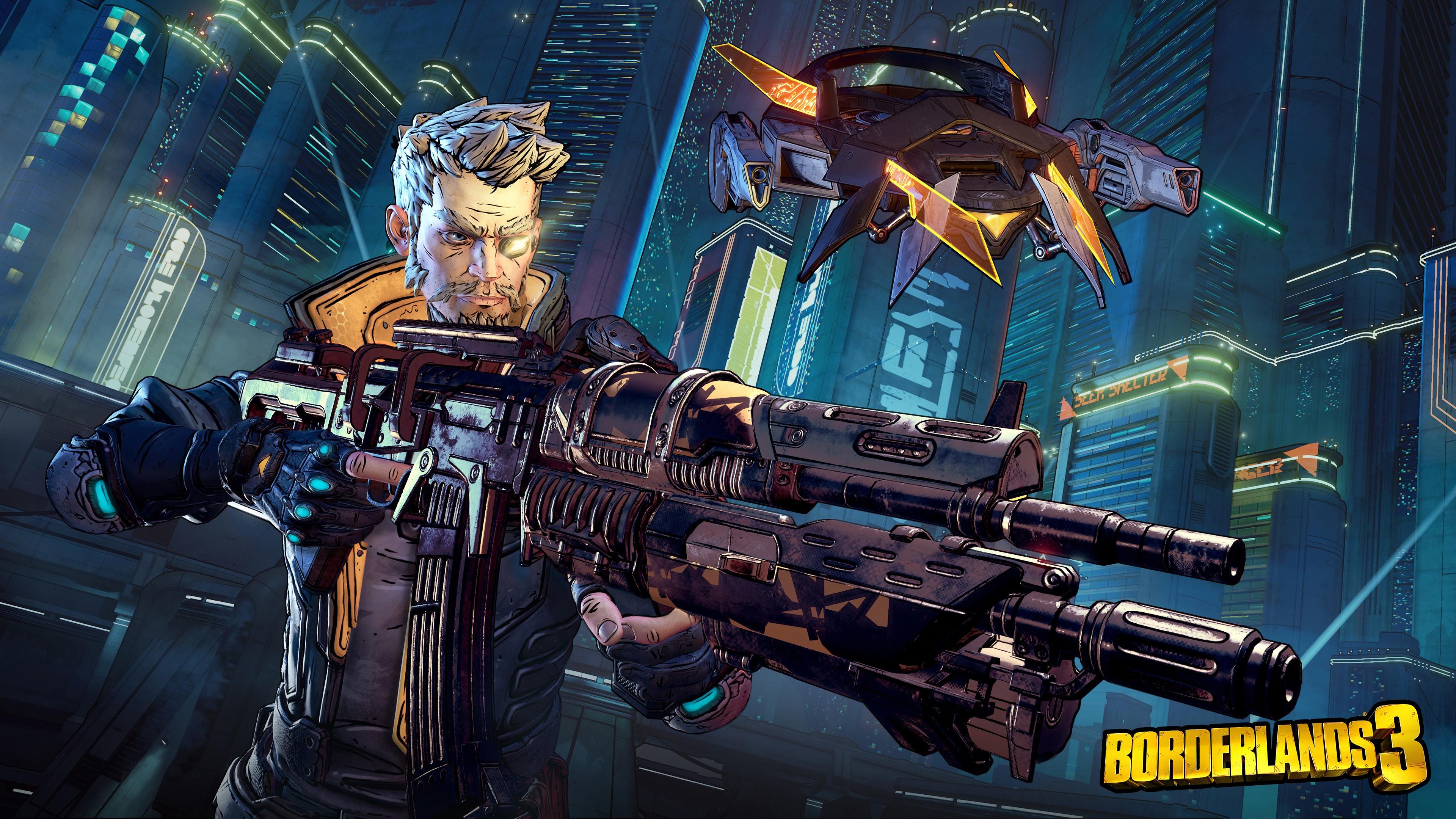Wallpaper Borderlands 3 E3 2019 Artwork 4K Games 21721