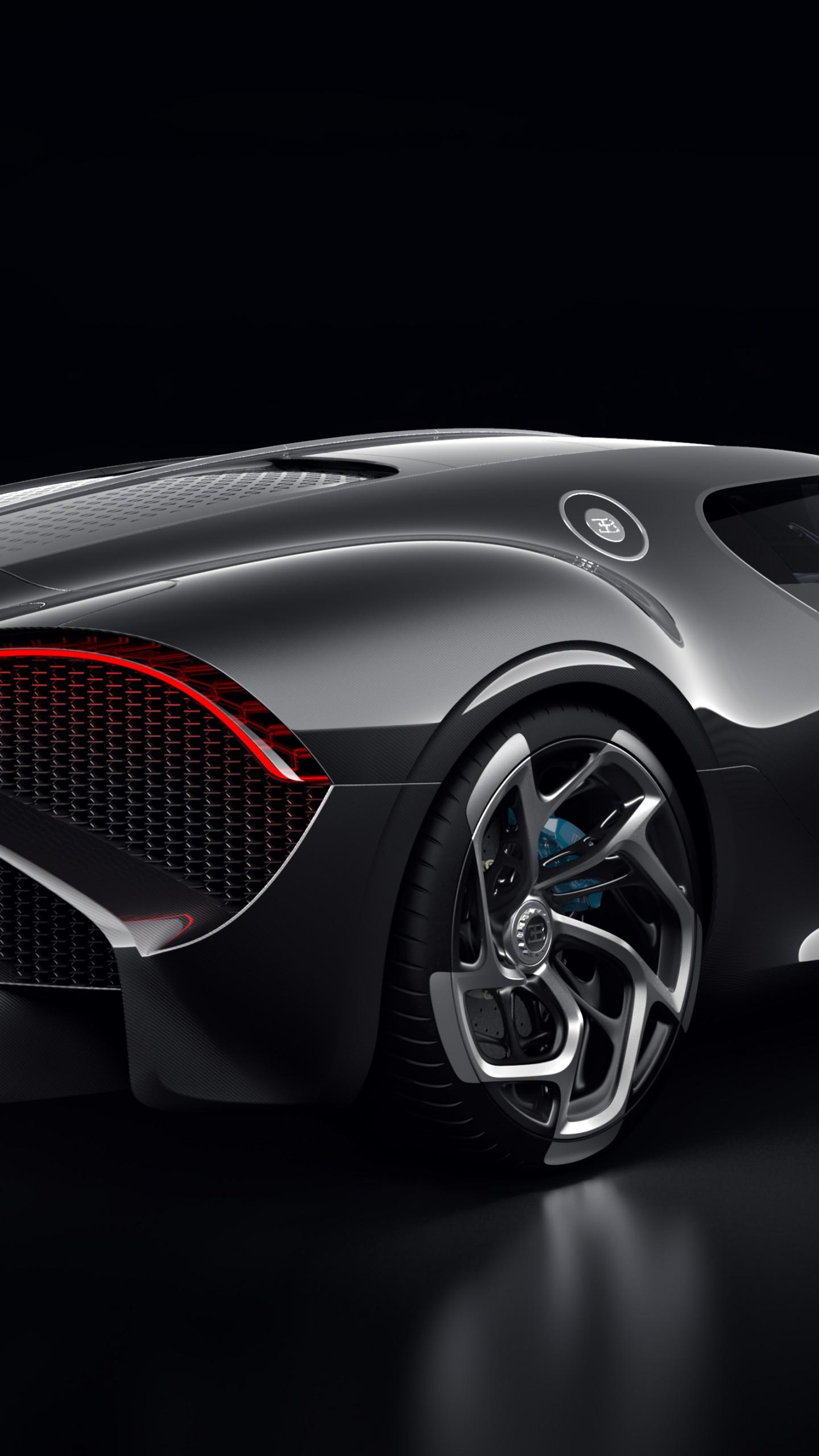 wallpaper bugatti la voiture noire  geneva motor show 2019  2019 cars  supercar  5k  cars