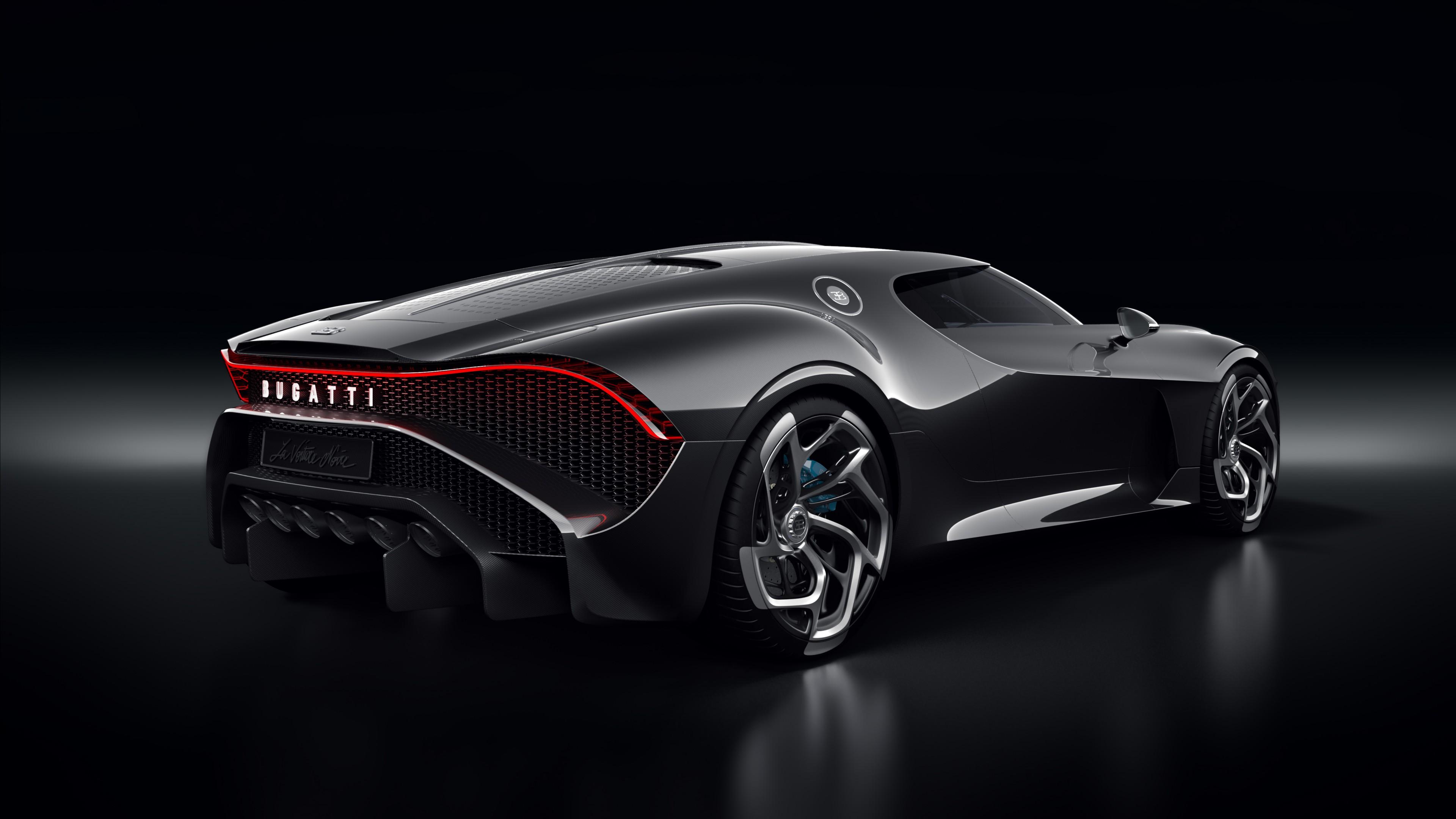 Wallpaper Bugatti La Voiture Noire, Geneva Motor Show 2019 ...