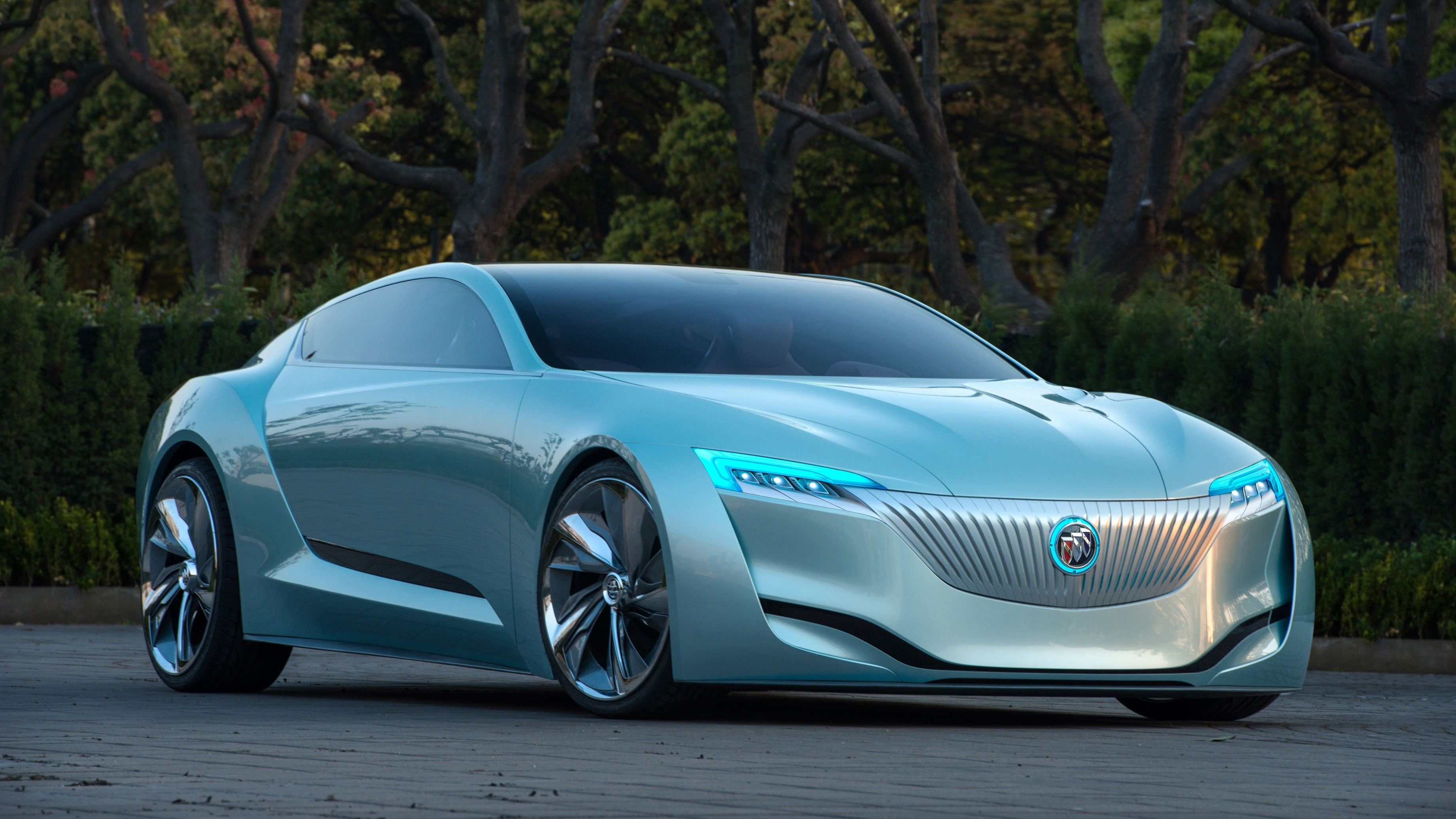 Wallpaper Buick Riviera Hybrid Electric Sedan 2016