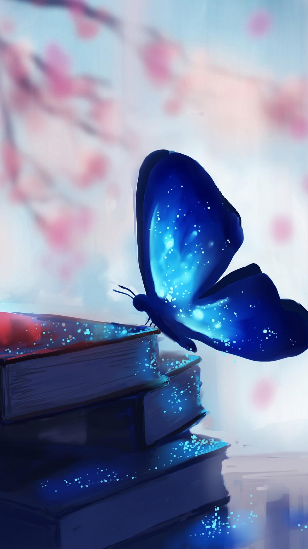 Wallpaper Butterfly, Books, Magic, Art, Art #8233