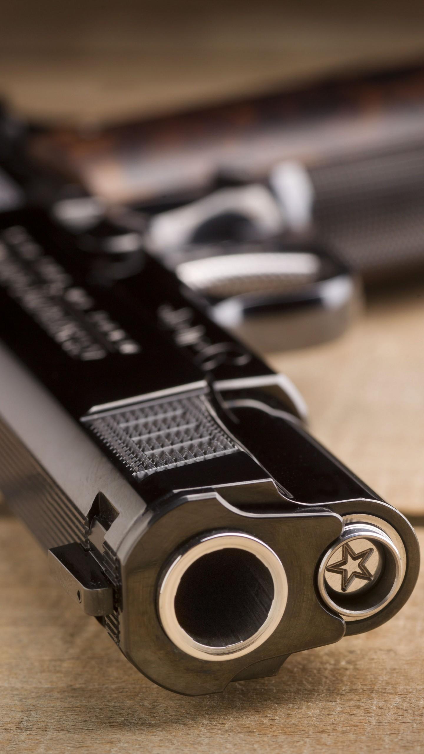 Wallpaper Cabot 1911 Pistol 5k Black Military 2819
