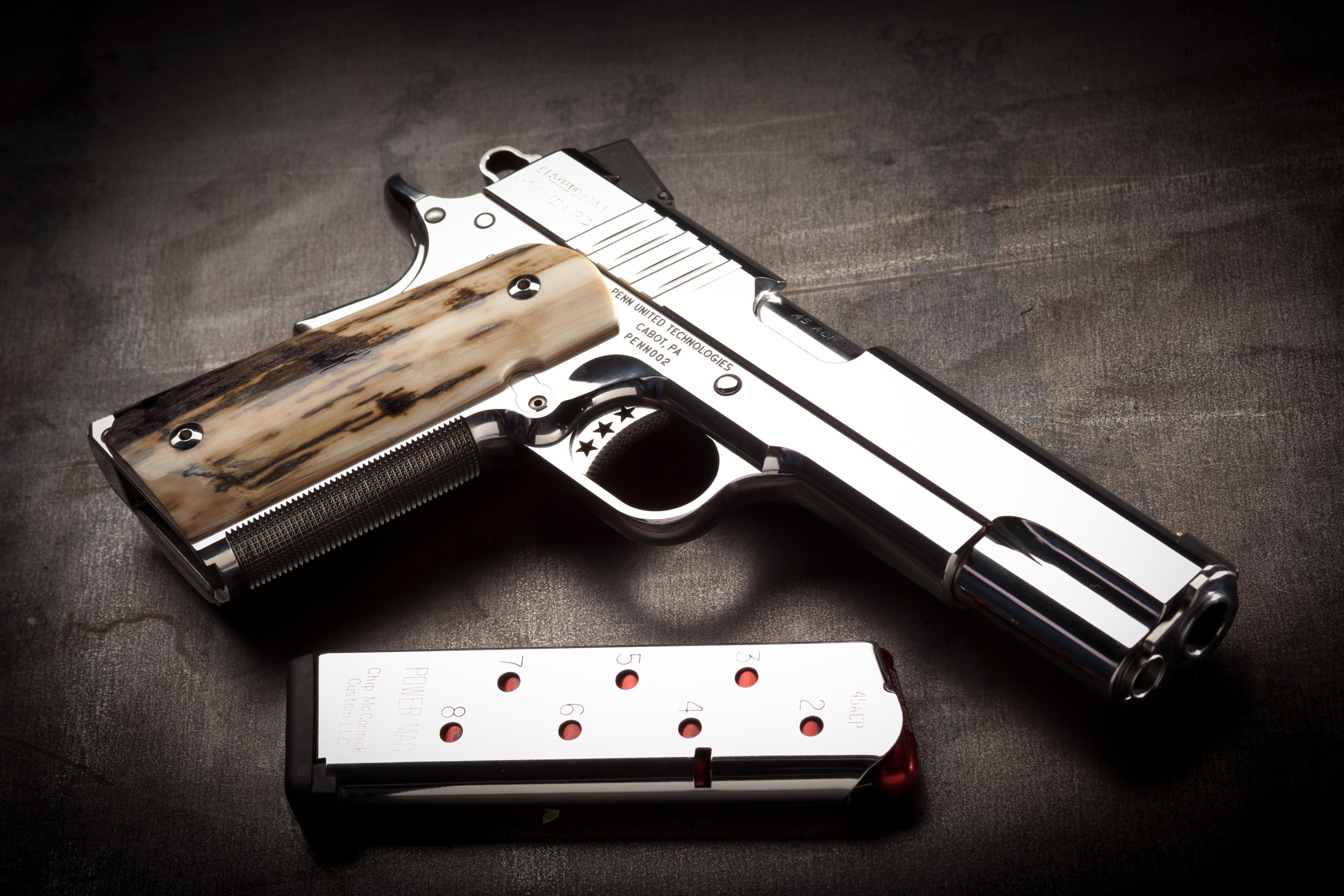 Wallpaper Cabot Guns Pistol 1911 Classic Custom Weapon