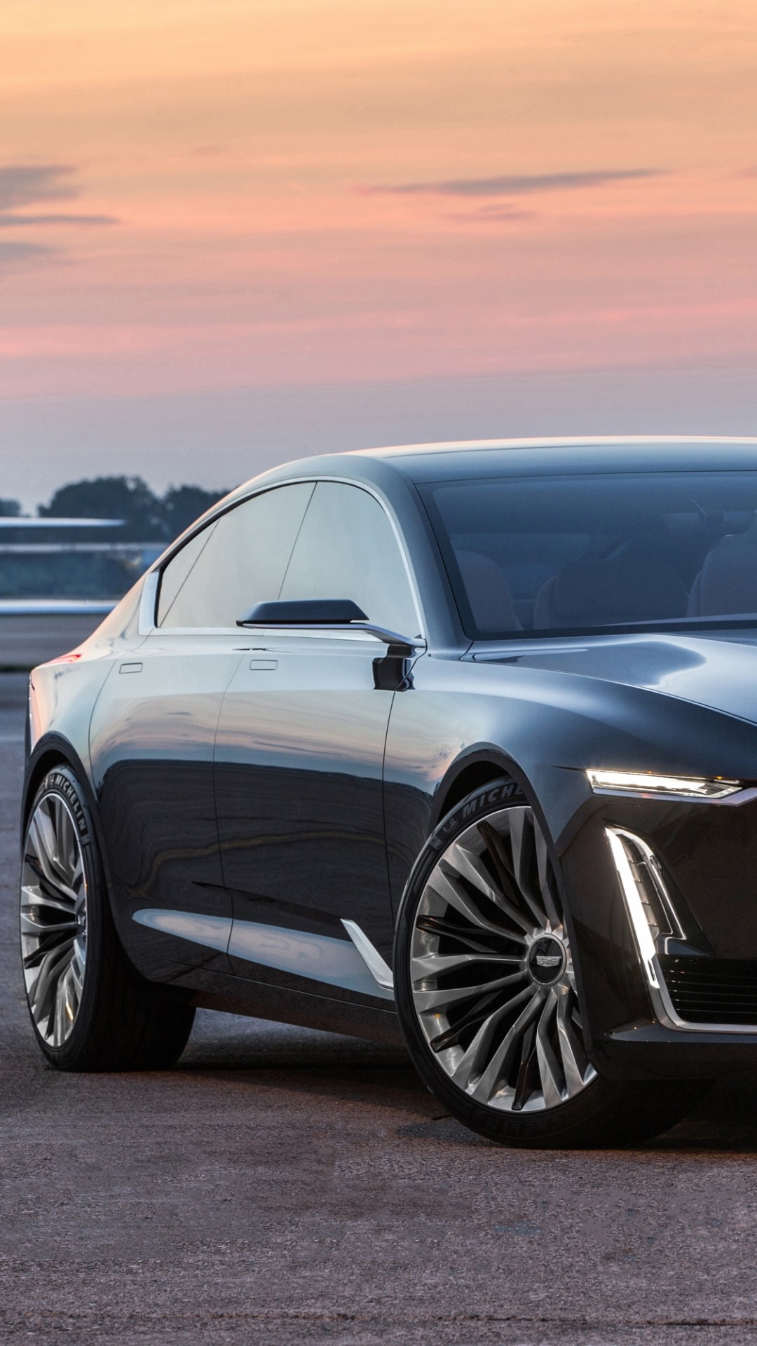 Wallpaper Cadillac Escala, Black, Sedan, Luxury Cars, Cars