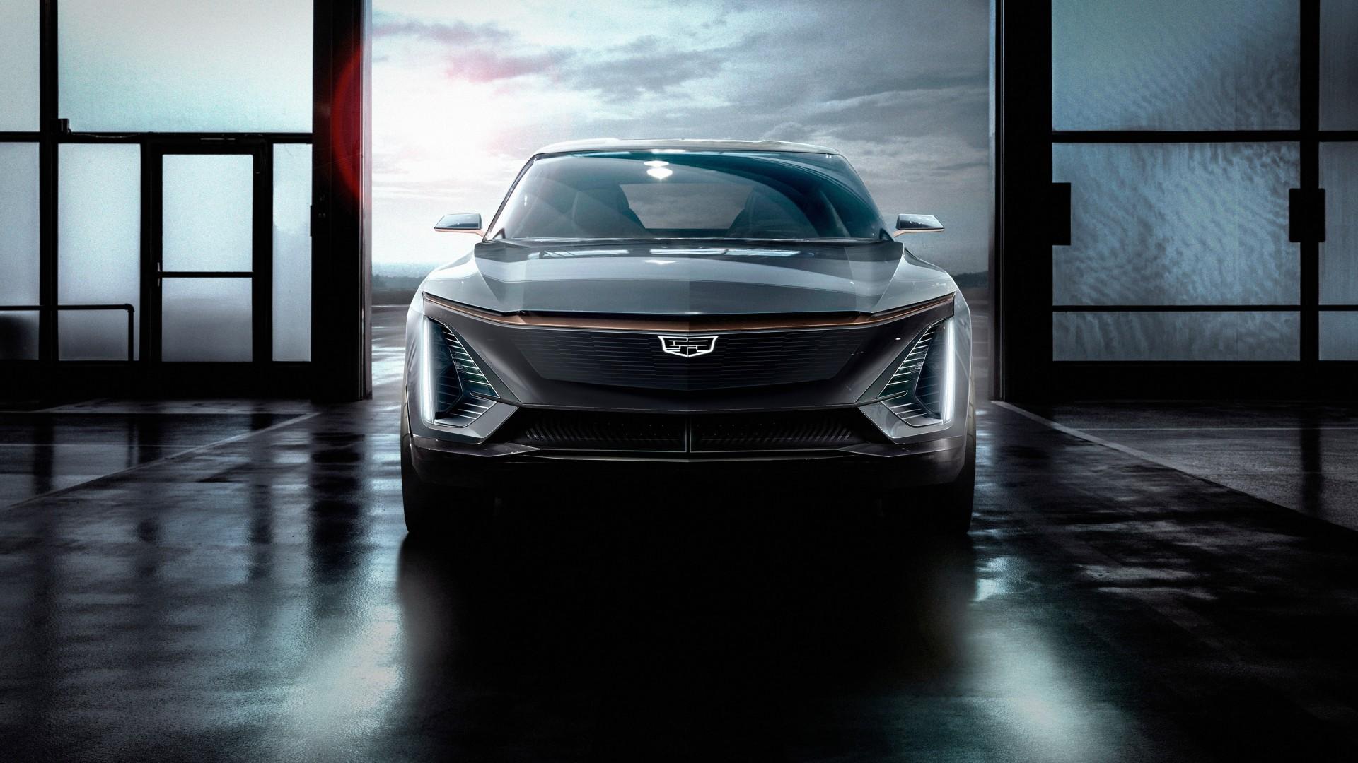 Wallpaper Cadillac EV, SUV, 2019 Cars, 2019 Detroit Auto ...
