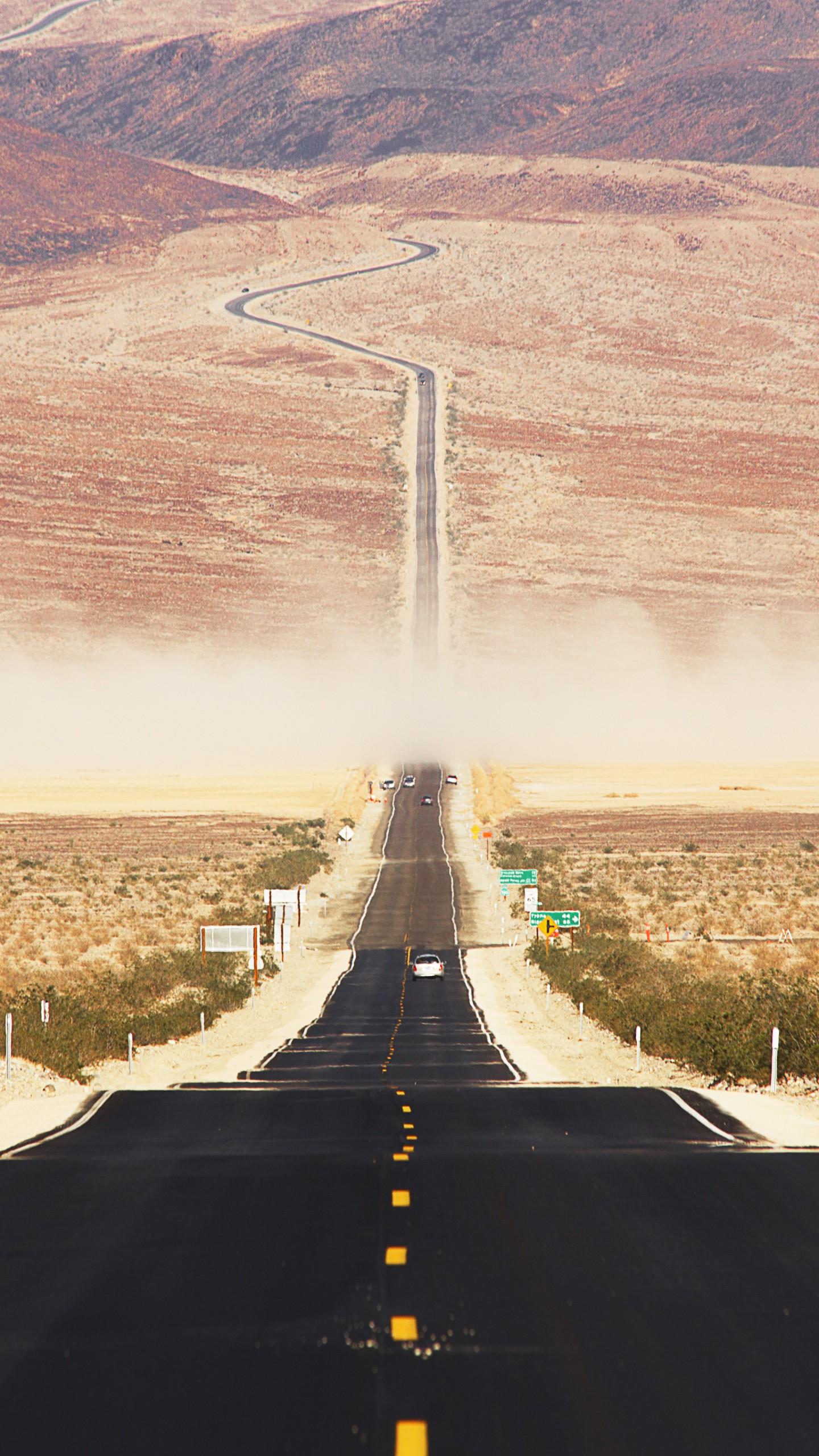 Wallpaper Californian desert, 4k, 5k wallpaper, 8k, road ...