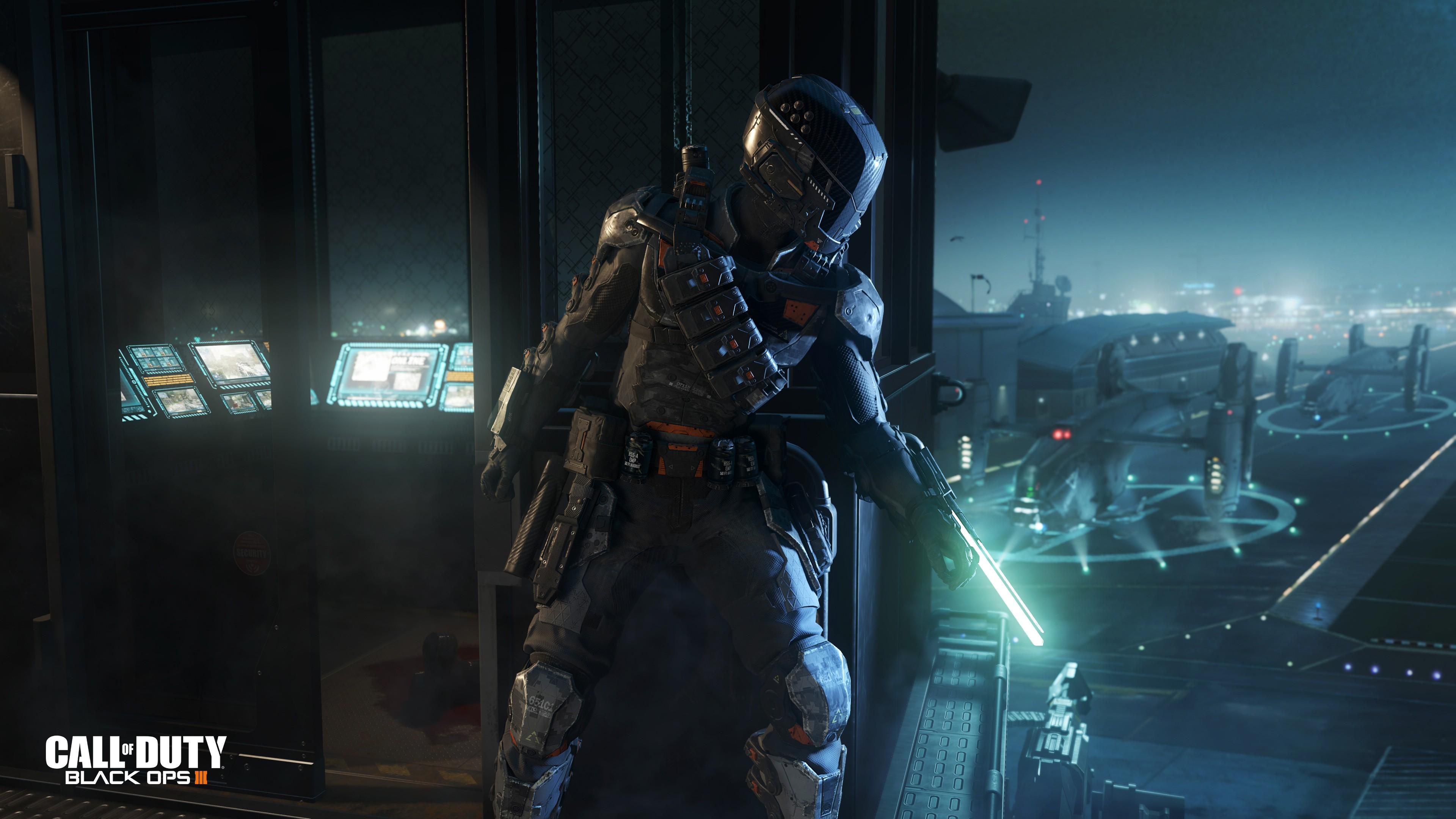 Wallpaper Call of Duty: Black Ops 3, Best Games, sci-fi
