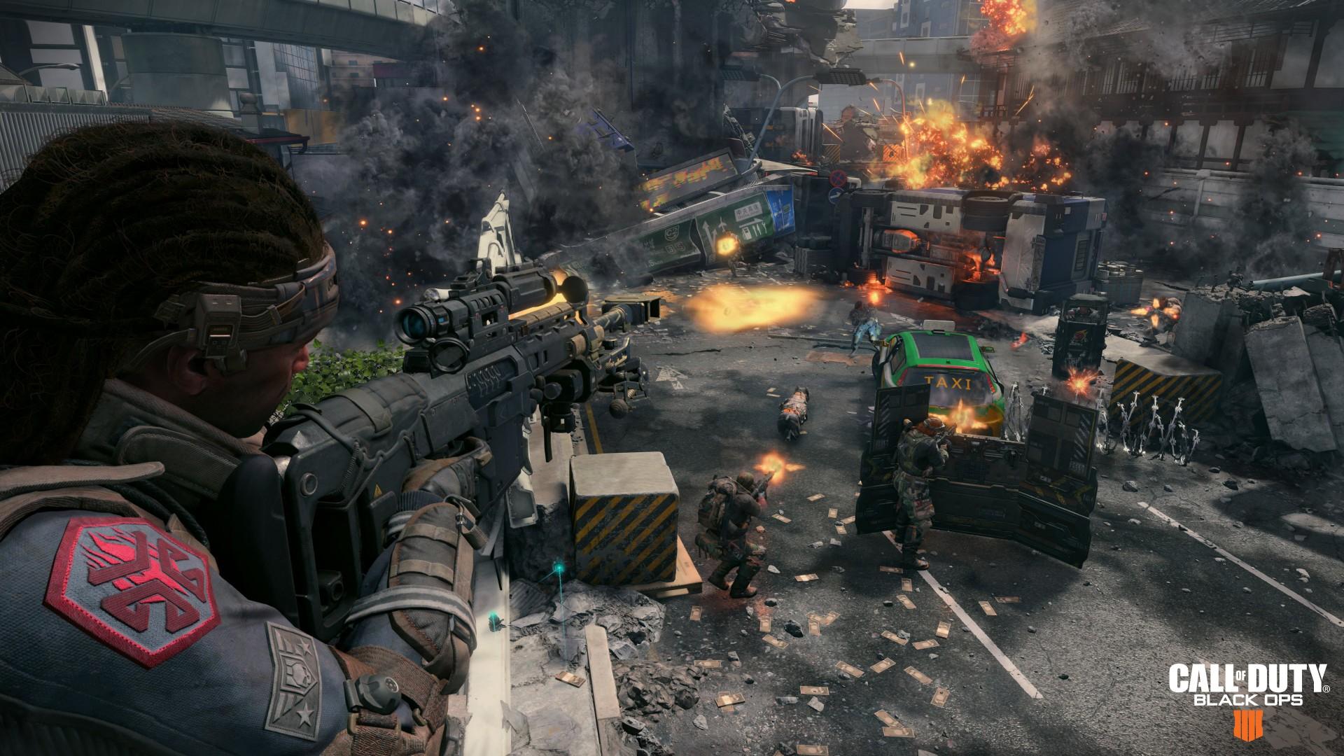 Wallpaper Call Of Duty Black Ops 4, Screenshot, 4K, Games -3917